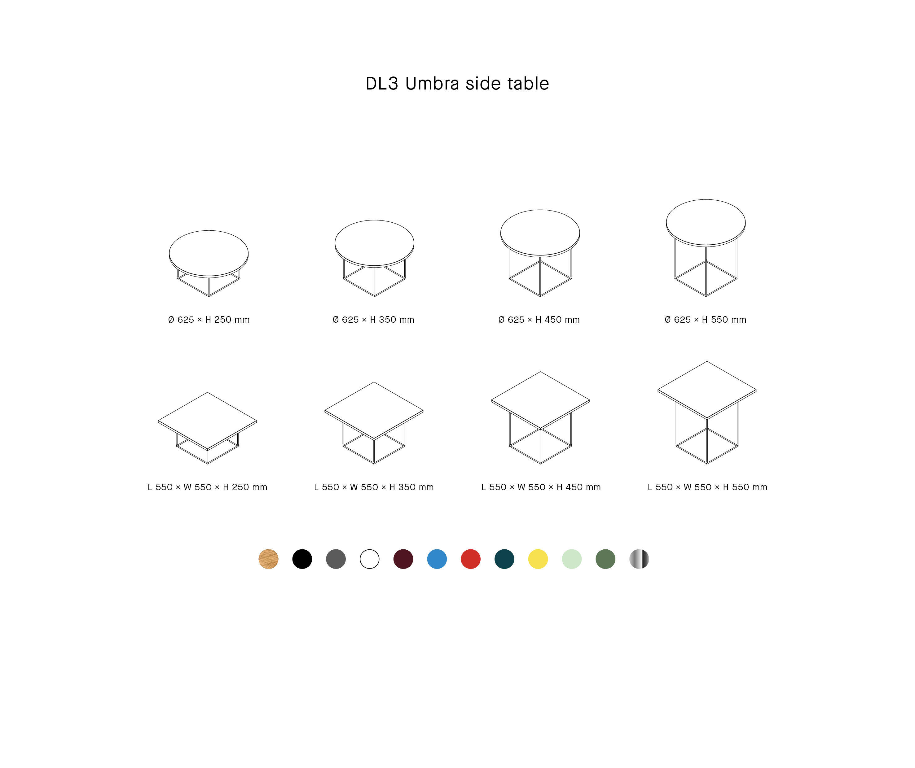 Dl3 Umbra Side Table Side Tables From Loehr Architonic