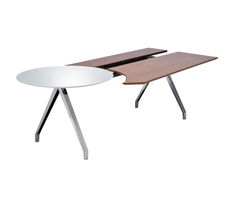 Table a plateau en deux parties bureaux de direction de for Table khi deux