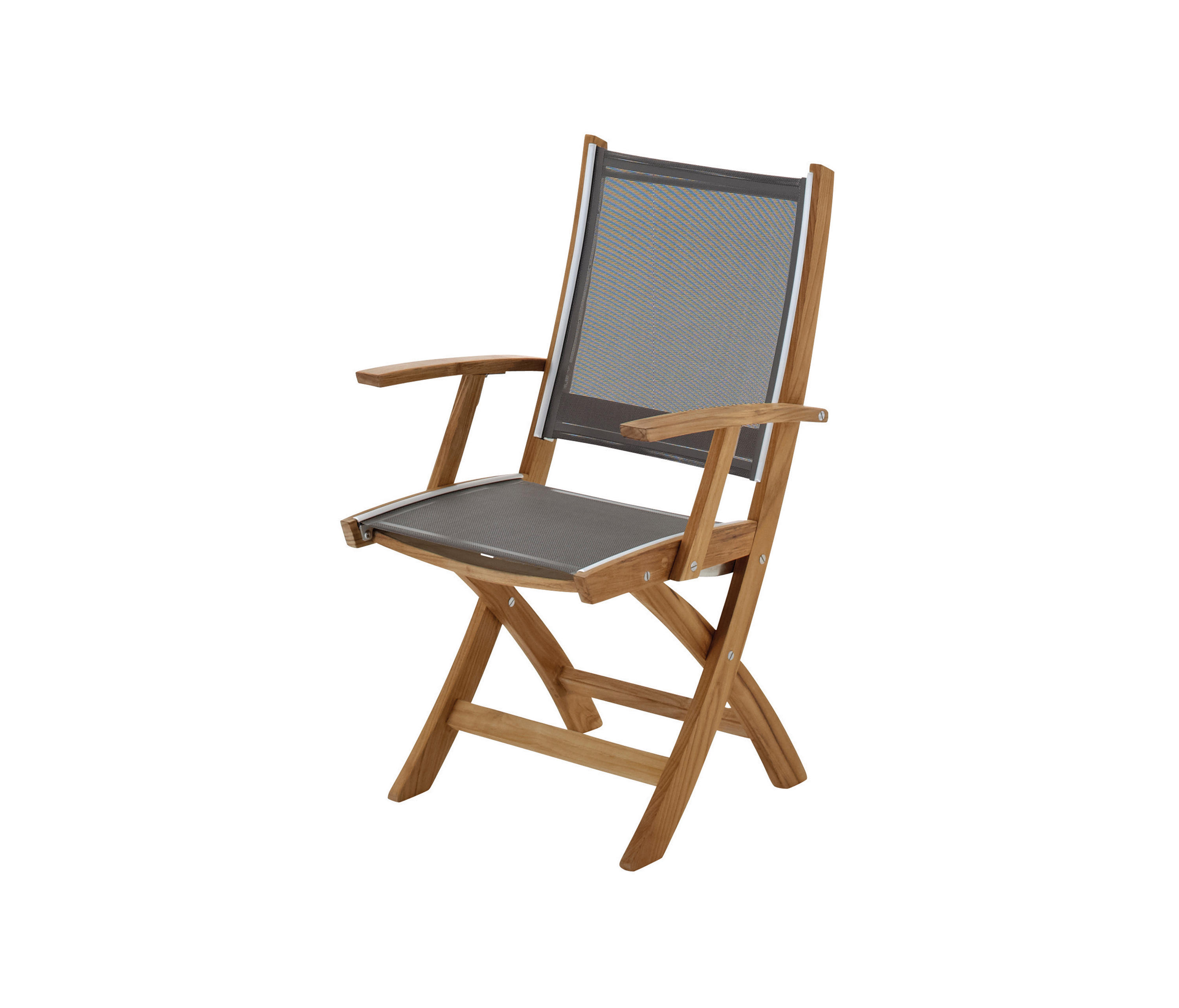 Solana Folding Chair with Arms Garden chairs by Gloster Furniture GmbH