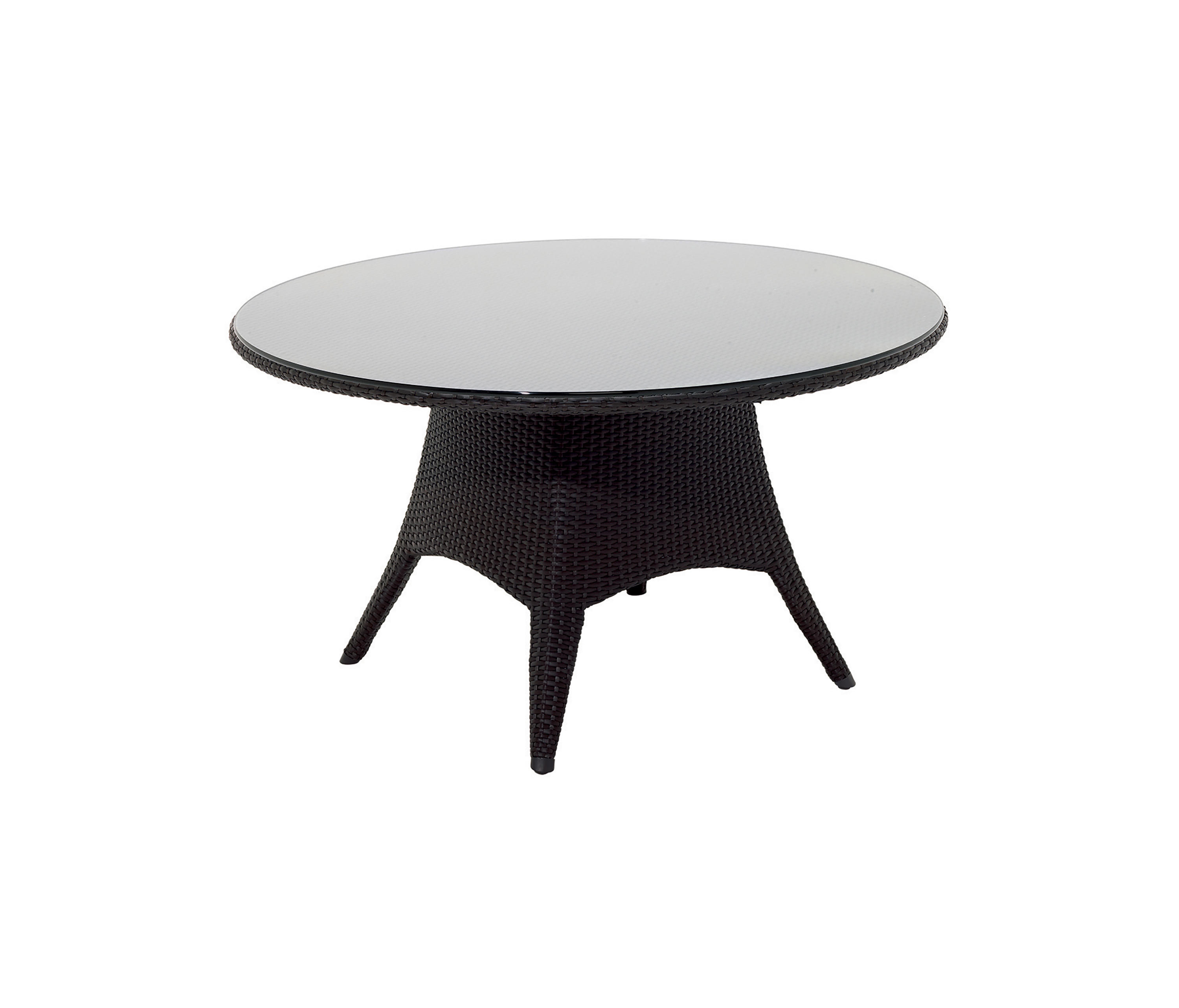Plantation round 5 seater table dining tables from gloster furniture gmbh architonic - Seater round dining table ...