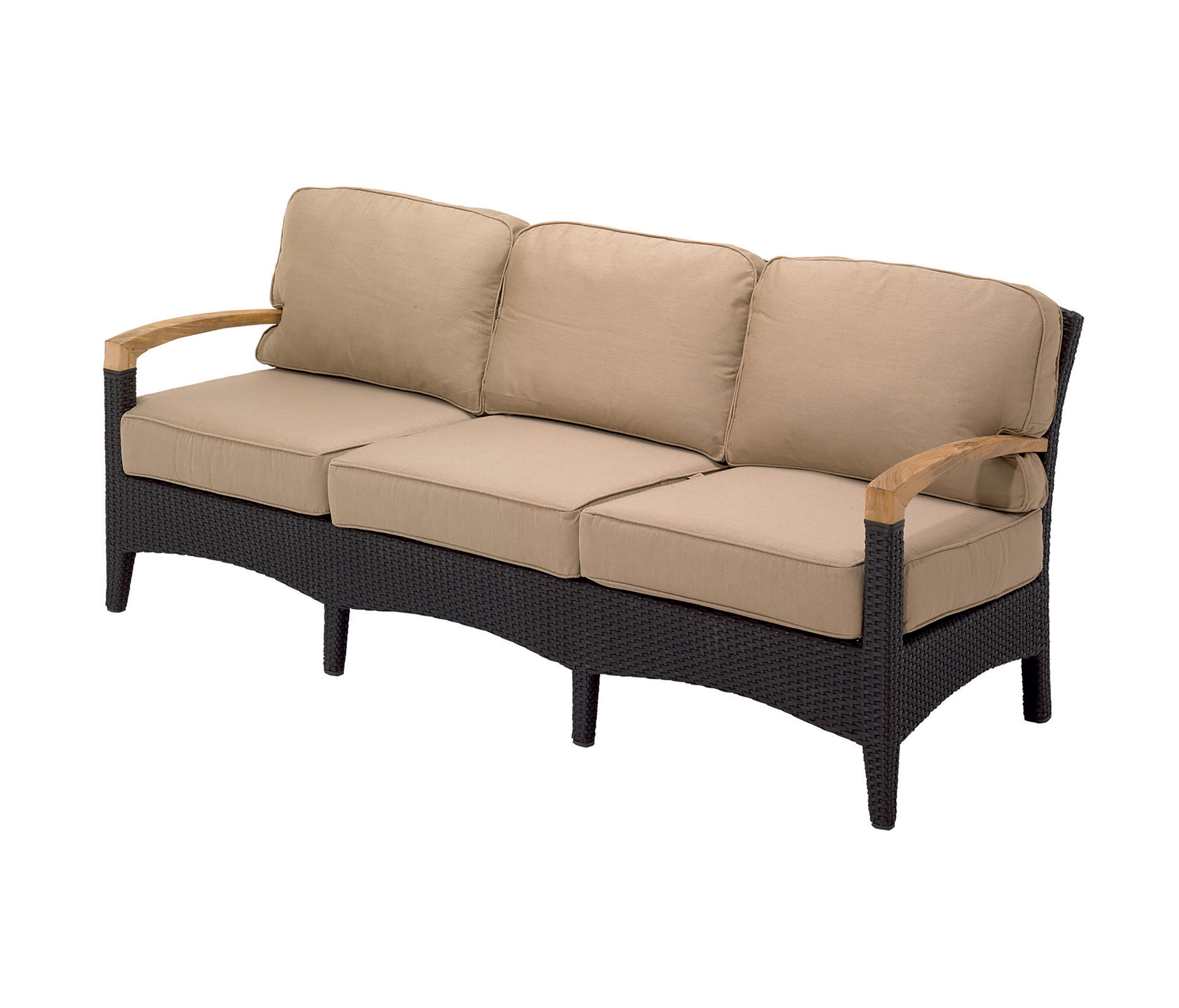 Plantation Deep Seating 3 Seater Sofa Sofas From Gloster