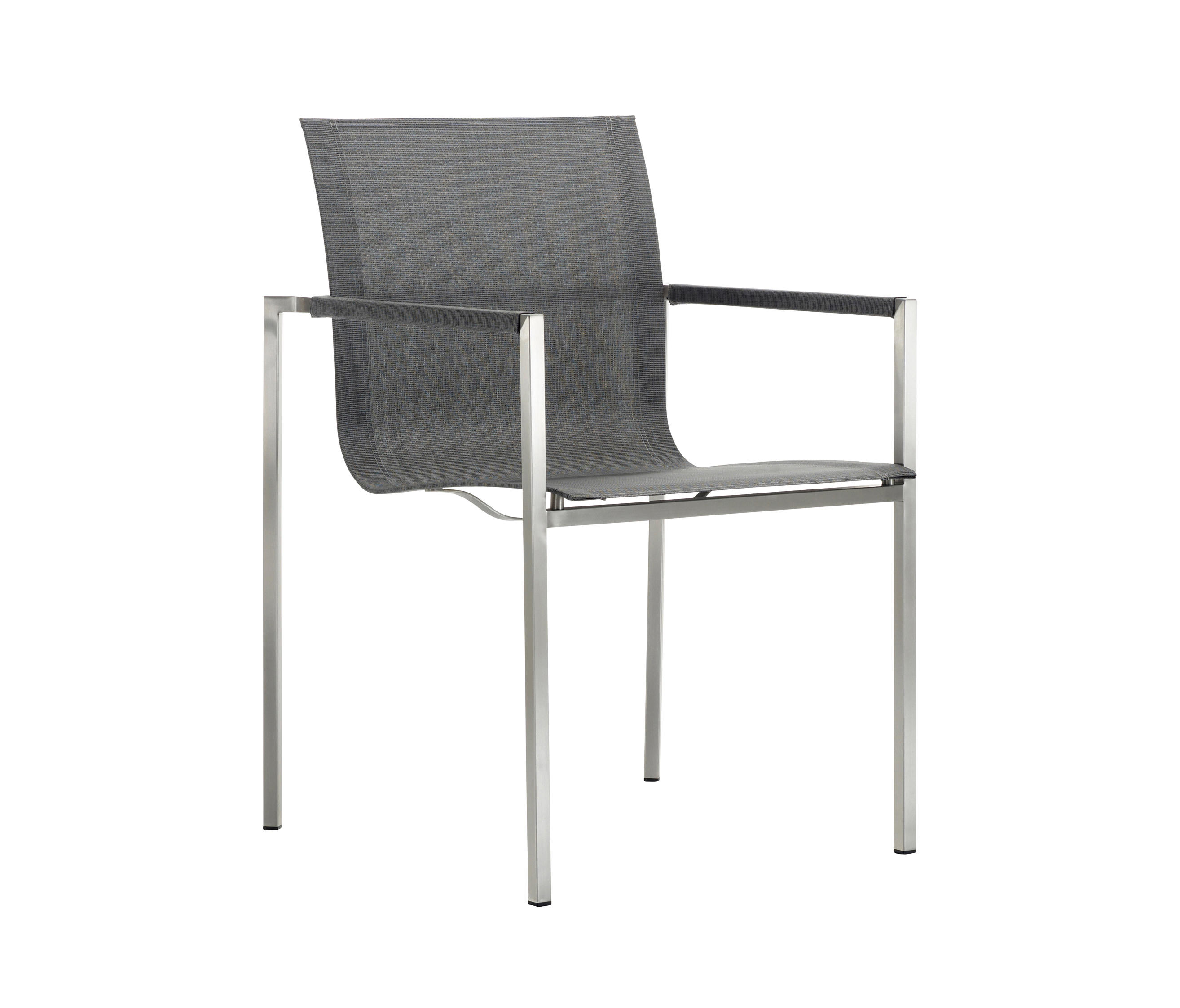 PURE STAINLESS STEEL STACKING CHAIR Garden chairs from solpuri