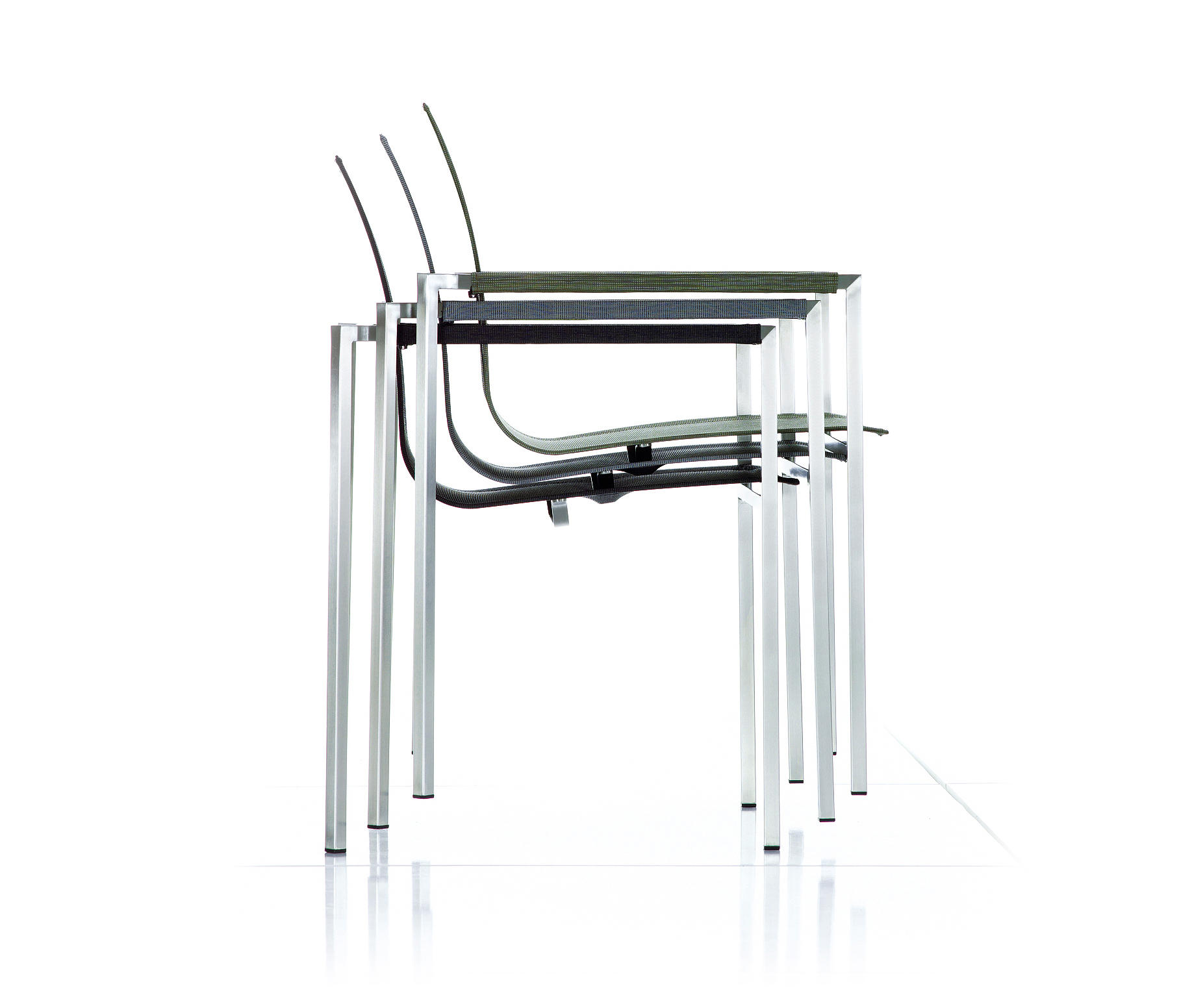 PURE STAINLESS STEEL STACKING CHAIR - Garden chairs from solpuri ...