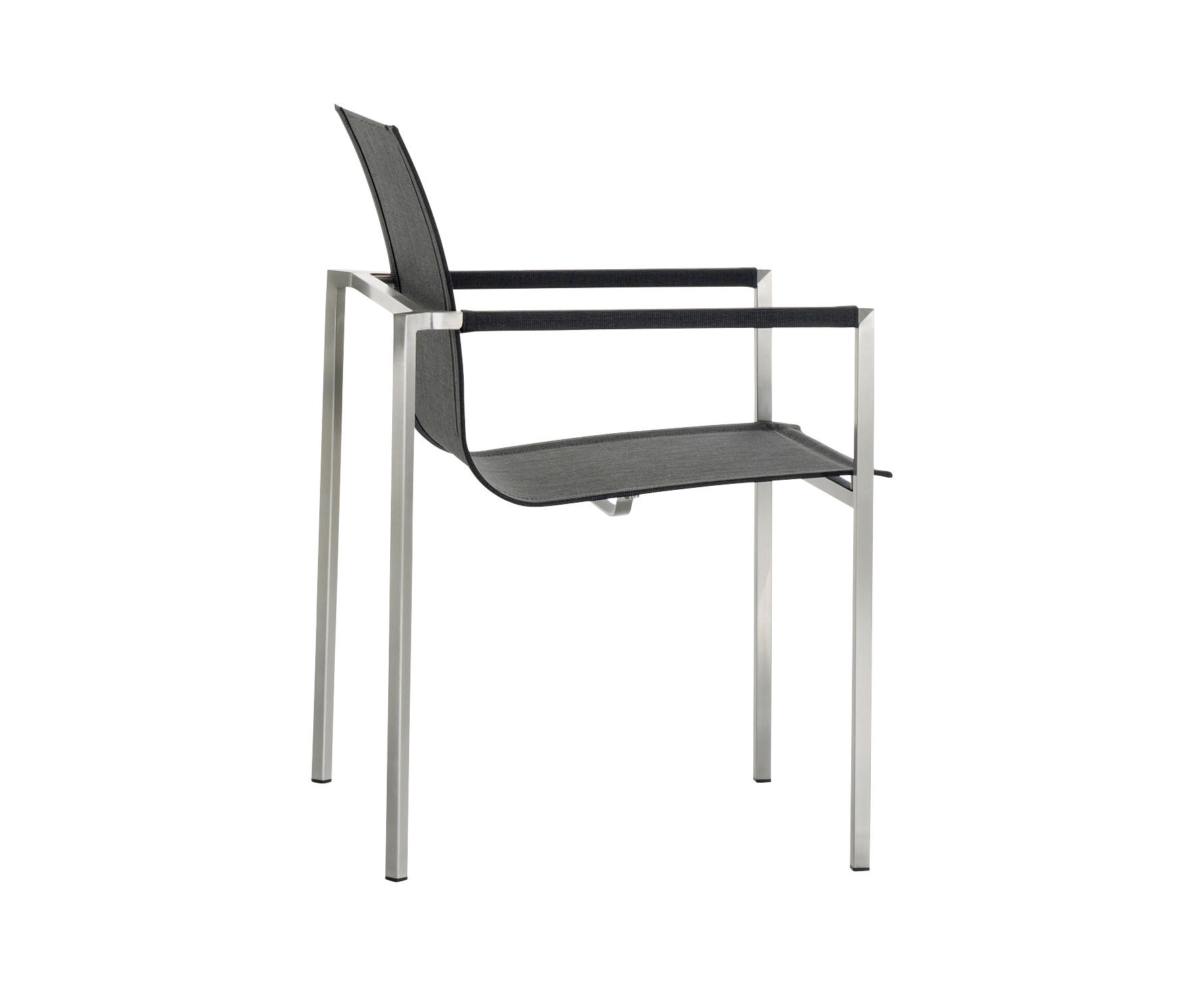 fauteuil empilable pure stainless steel de solpuri chaises - Fauteuil Stainless