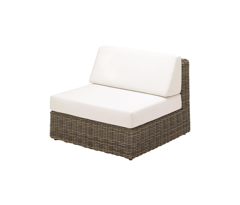 HAVANA MODULAR CENTRE UNIT Garden armchairs from Gloster