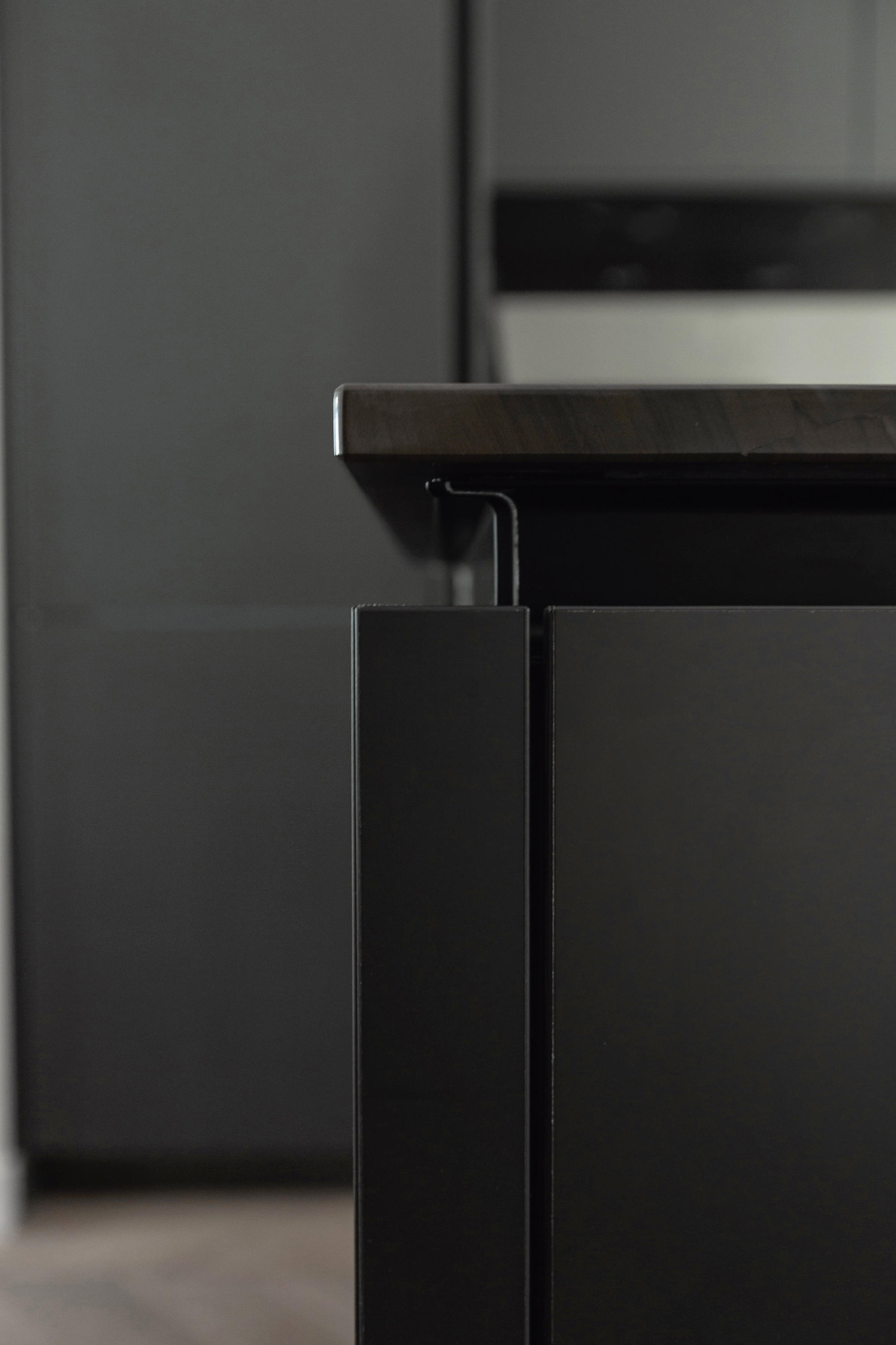 materials laminate matt synthetic panels from siematic. Black Bedroom Furniture Sets. Home Design Ideas