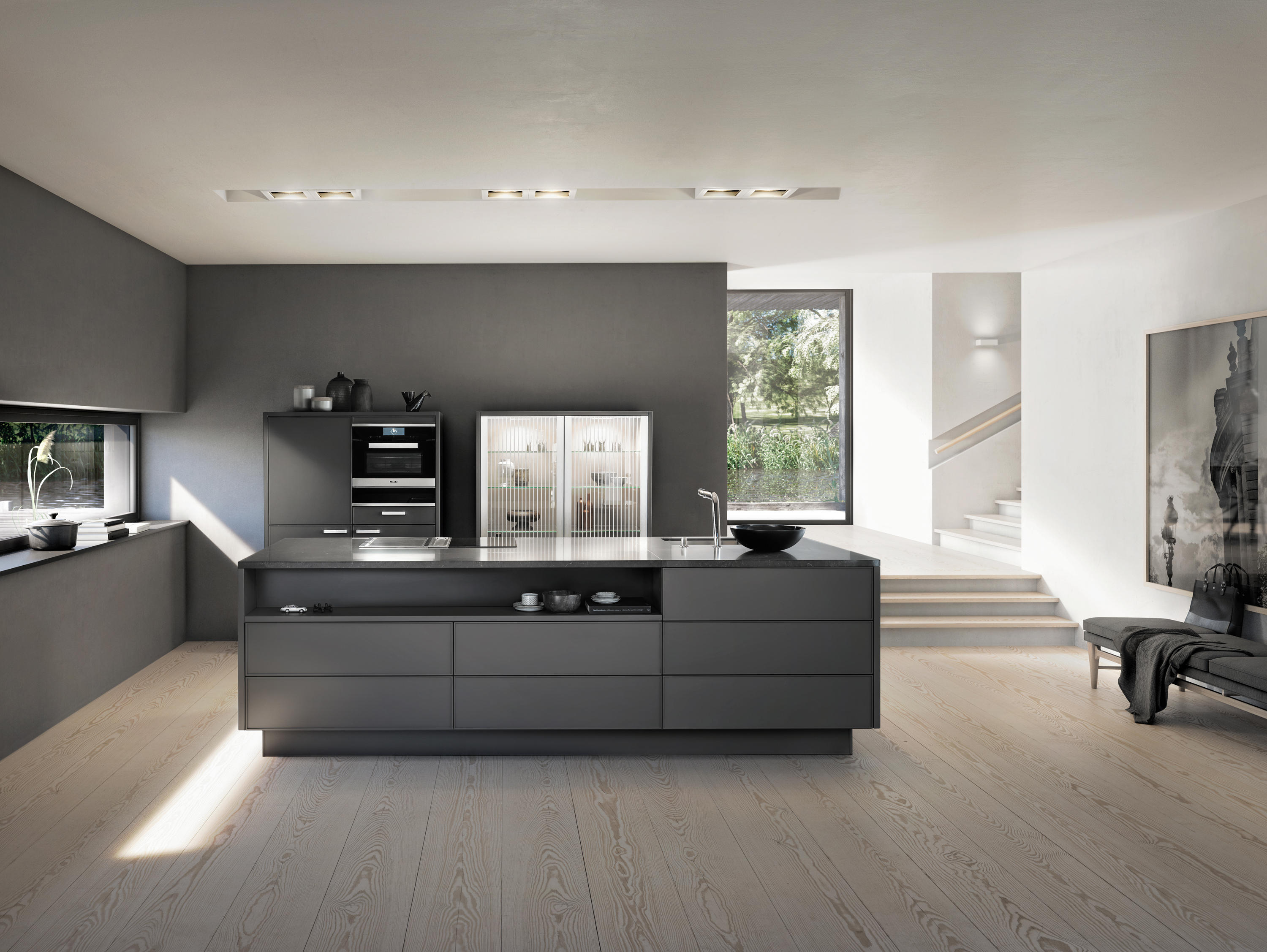 Materials | Lacquer Matt By SieMatic | Fitted Kitchens