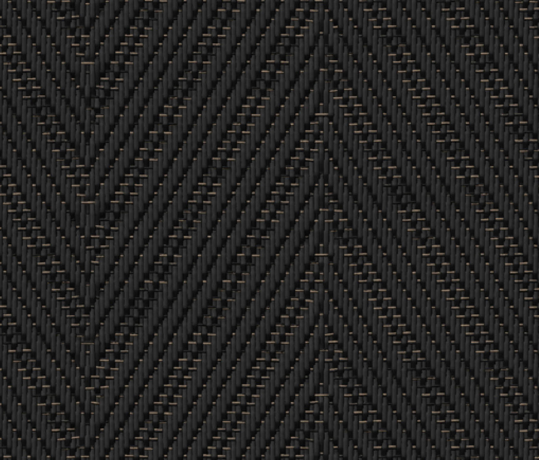Graphic Herringbone Black Wall To Wall Carpets From