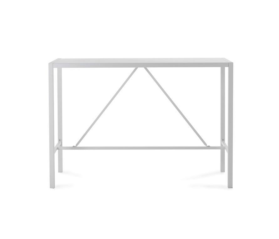 Conrad bar table tables hautes de jardin de unopi for Table exterieur unopiu