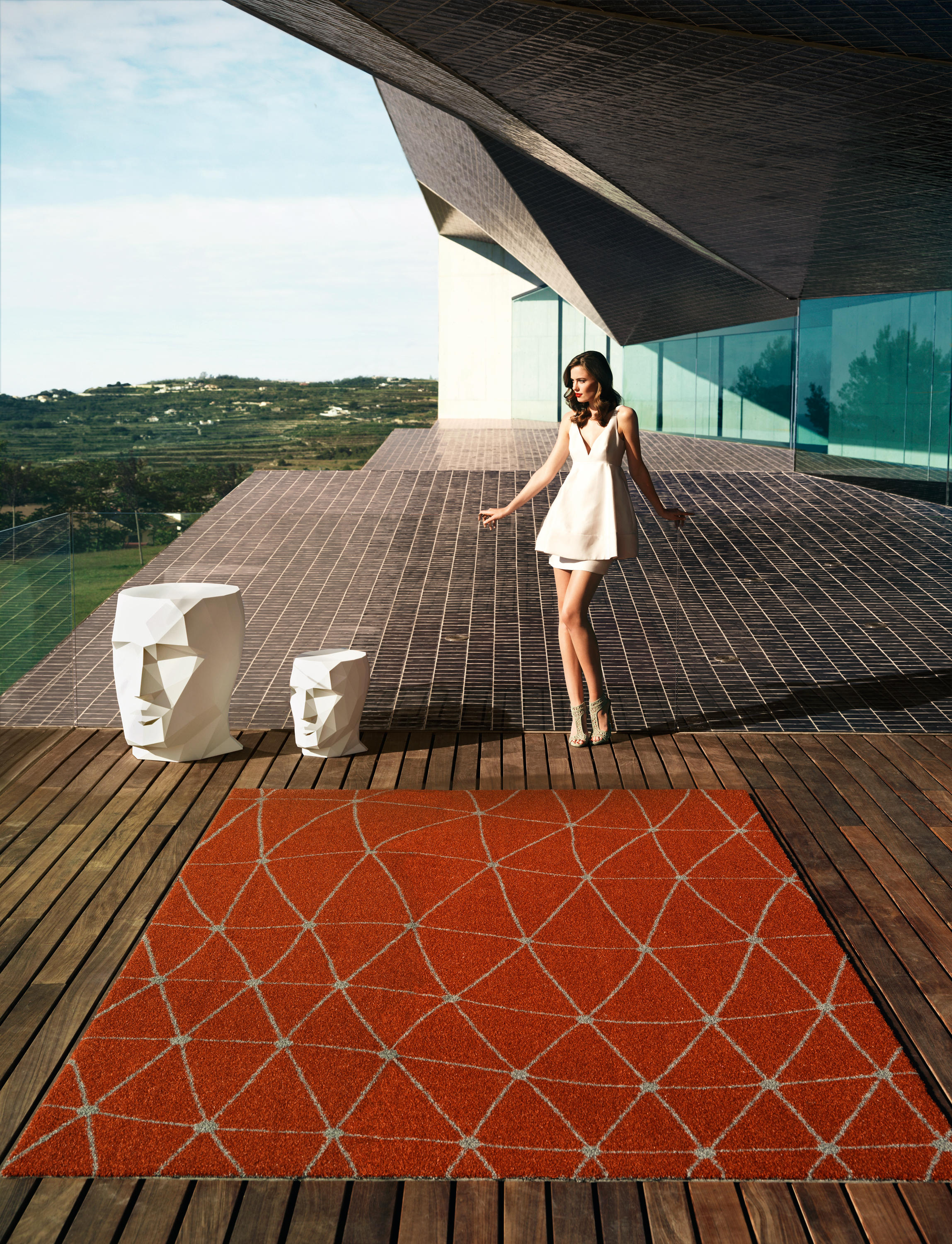 Koi Rug By Vondom Outdoor Rugs