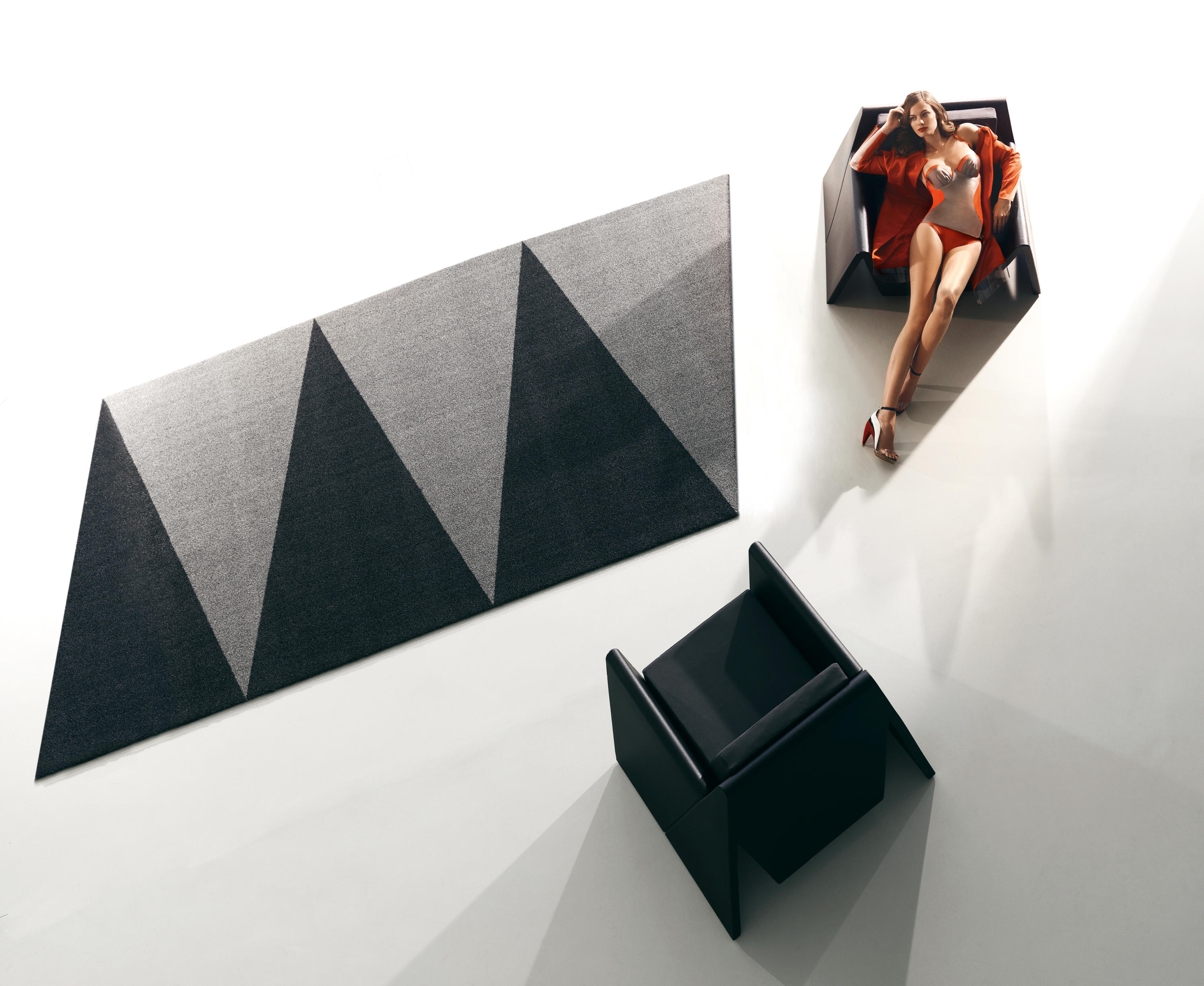 Overlap Rug Outdoor Rugs From Vondom Architonic