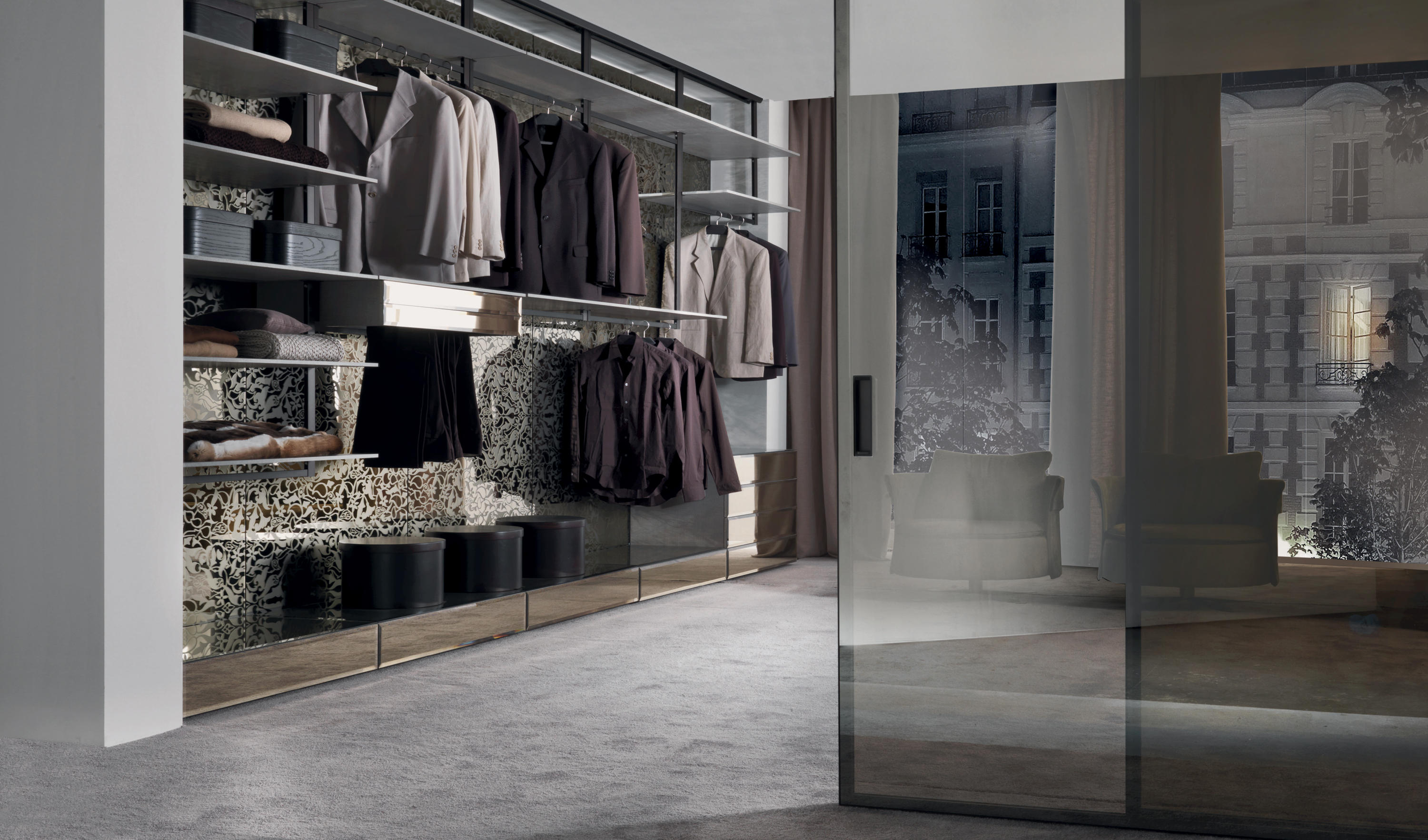 FLY-SYSTEM - Walk-in wardrobes from Longhi S p a  | Architonic