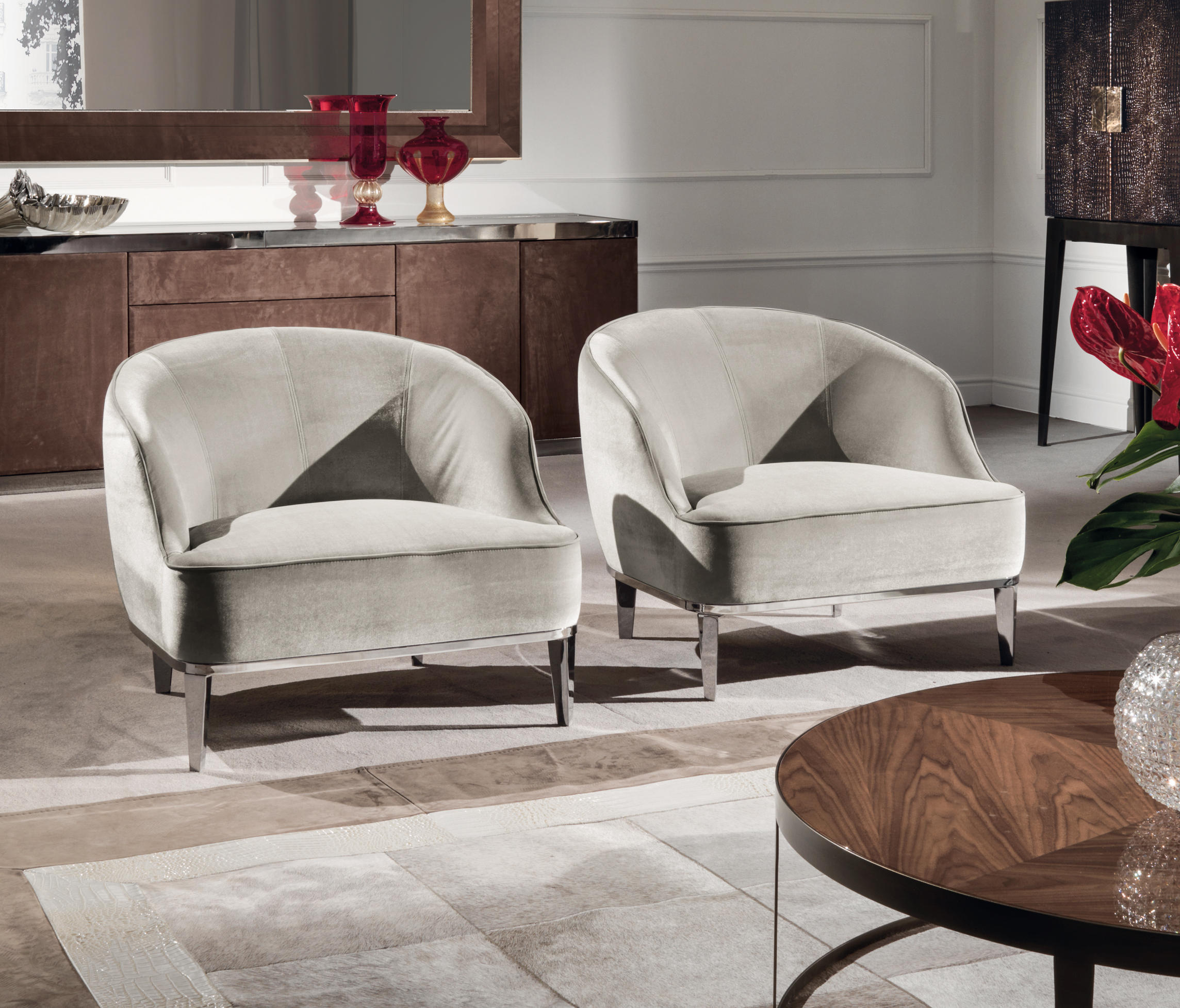 beth armchairs from longhi s p a architonic
