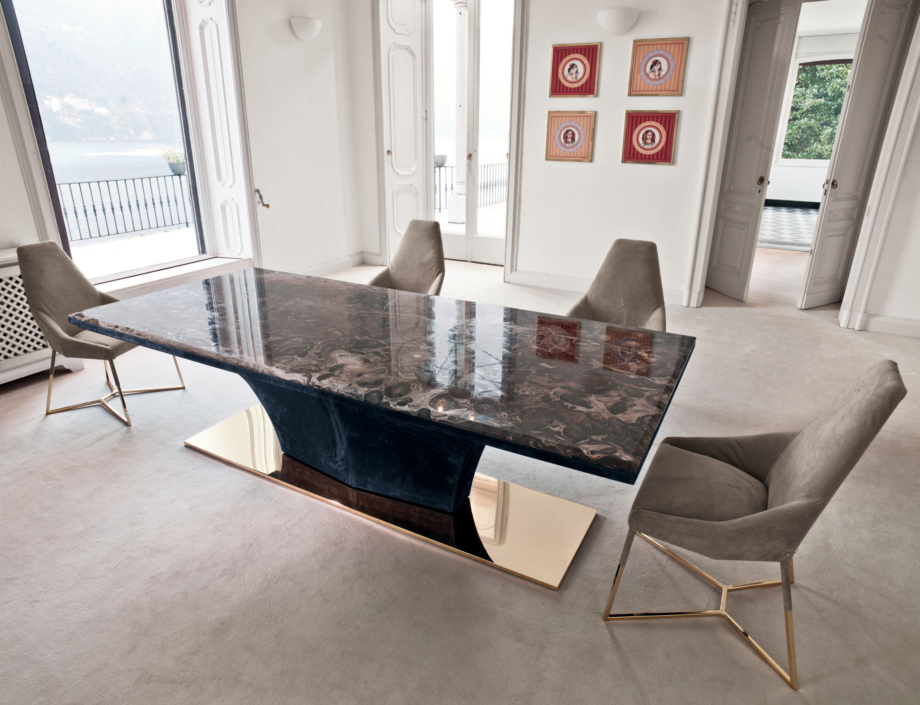 omotesando dining tables from longhi s p a architonic. Black Bedroom Furniture Sets. Home Design Ideas