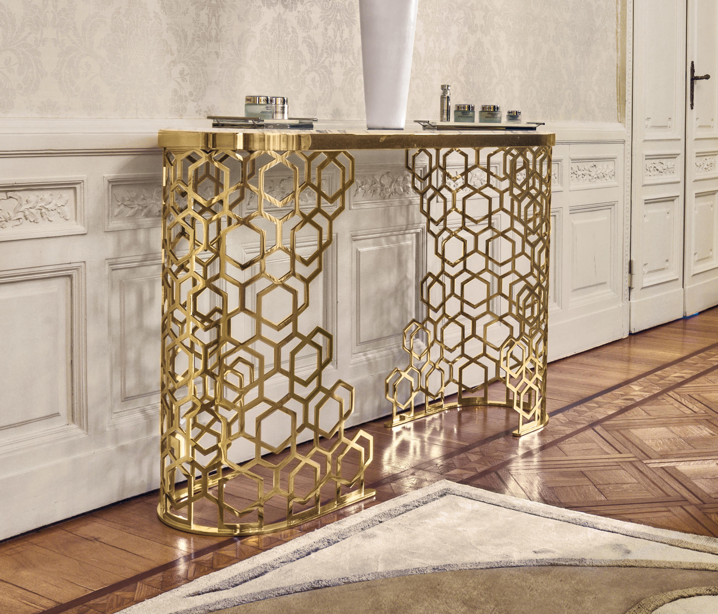 Furniture Console: MANFRED - Console Tables From Longhi S.p.a.