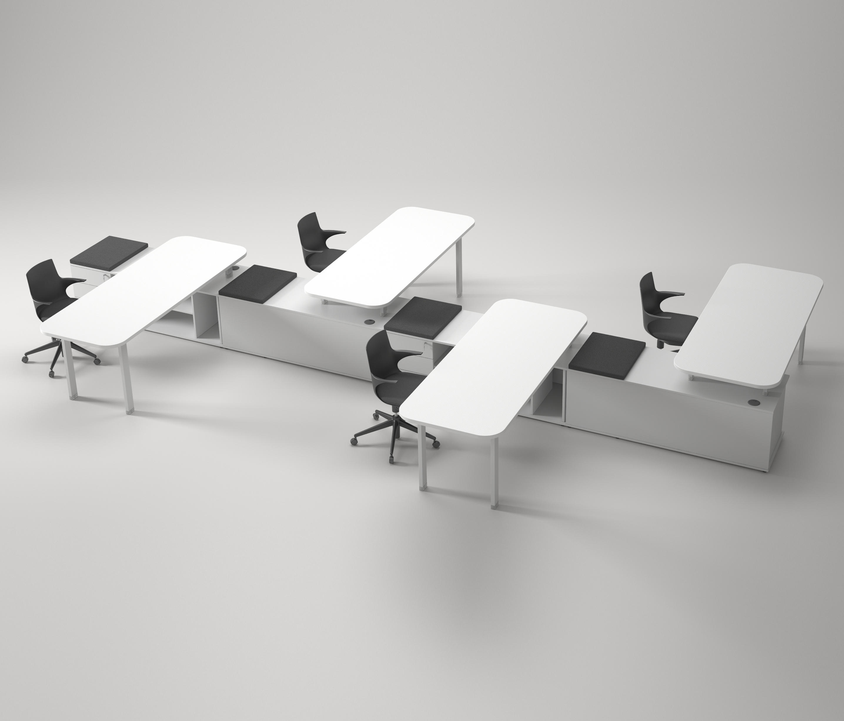 4-PERSONS WORKSTATIONS - High quality designer 4-PERSONS ...
