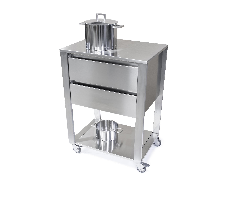 Carrello cucina ikea simple carrello da cucina xxh cm verniciato grigio con carrello ikea e wpz - Cucine in acciaio ikea ...