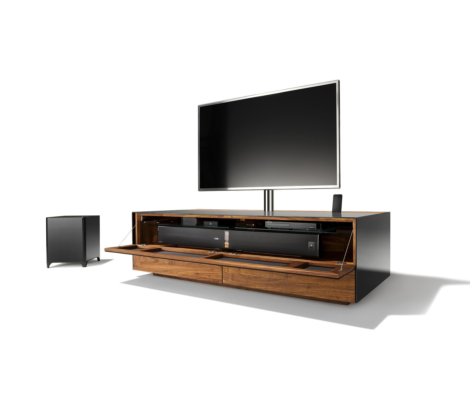 tv board glas perfect tv mobel schwarz weiss steel tv tv board in wei schwarz glas with tv. Black Bedroom Furniture Sets. Home Design Ideas