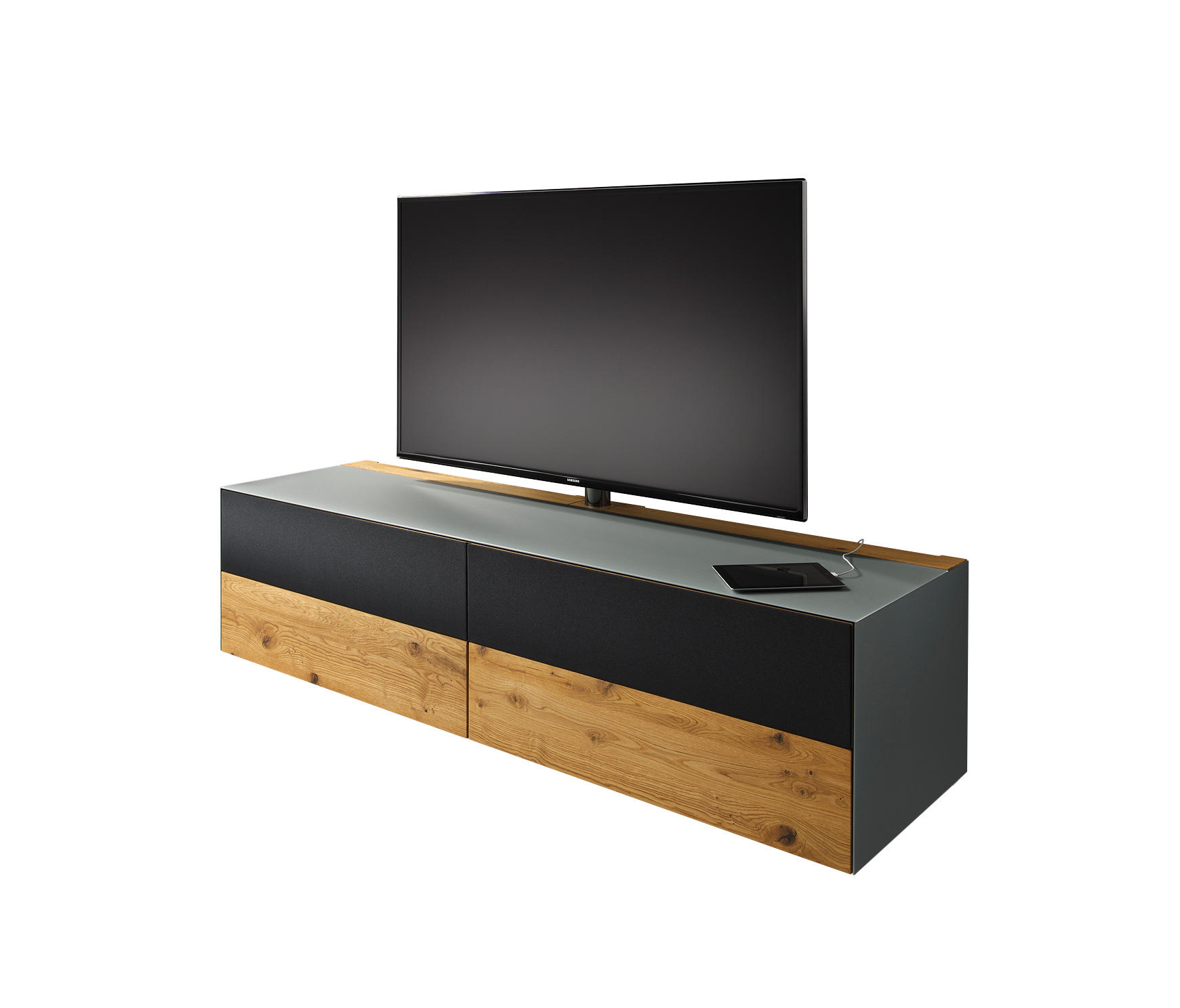 cubus pure home entertainment multimedia sideboards von team 7 architonic. Black Bedroom Furniture Sets. Home Design Ideas
