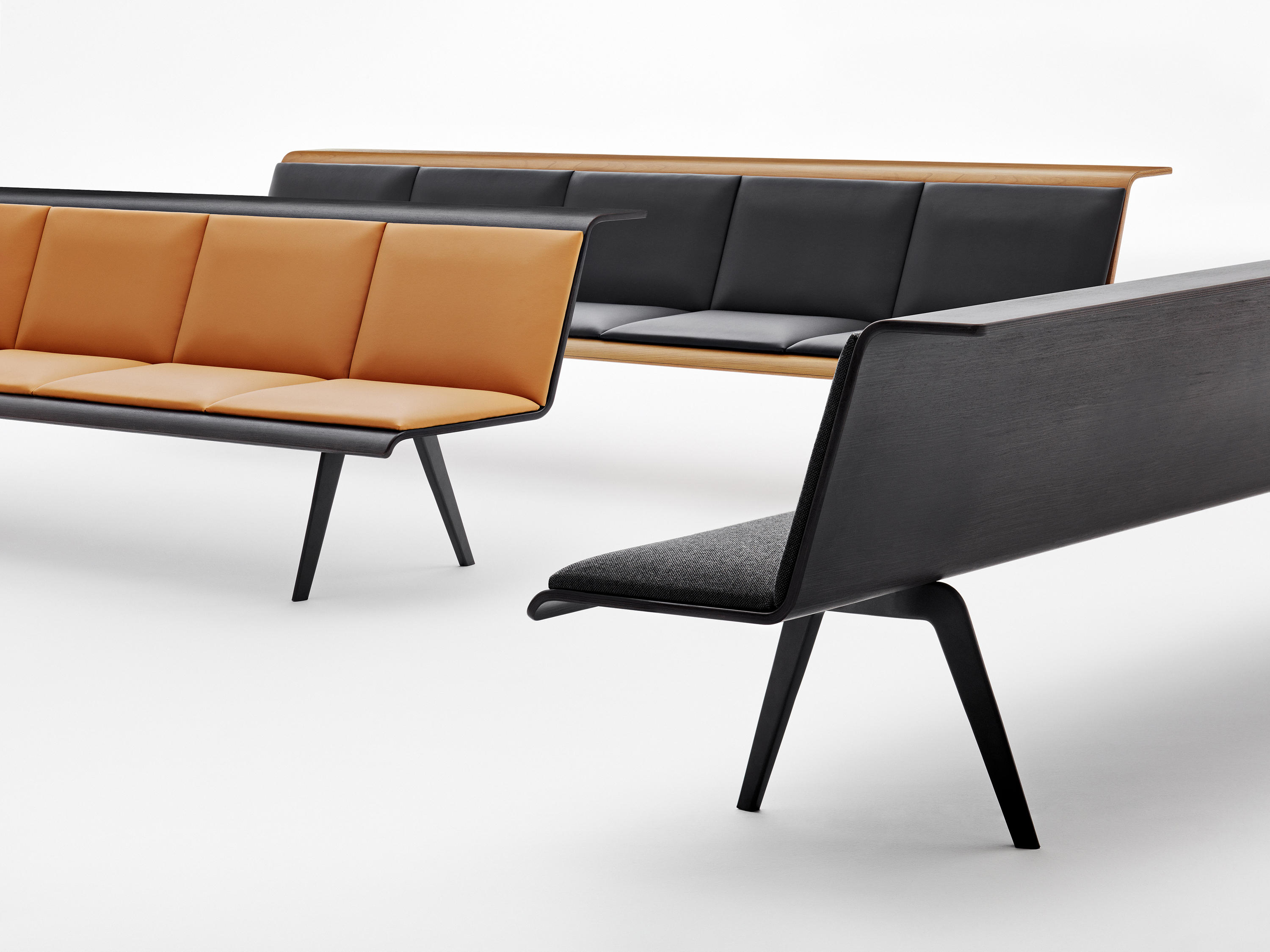 Zinta Waiting Benches From Arper Architonic