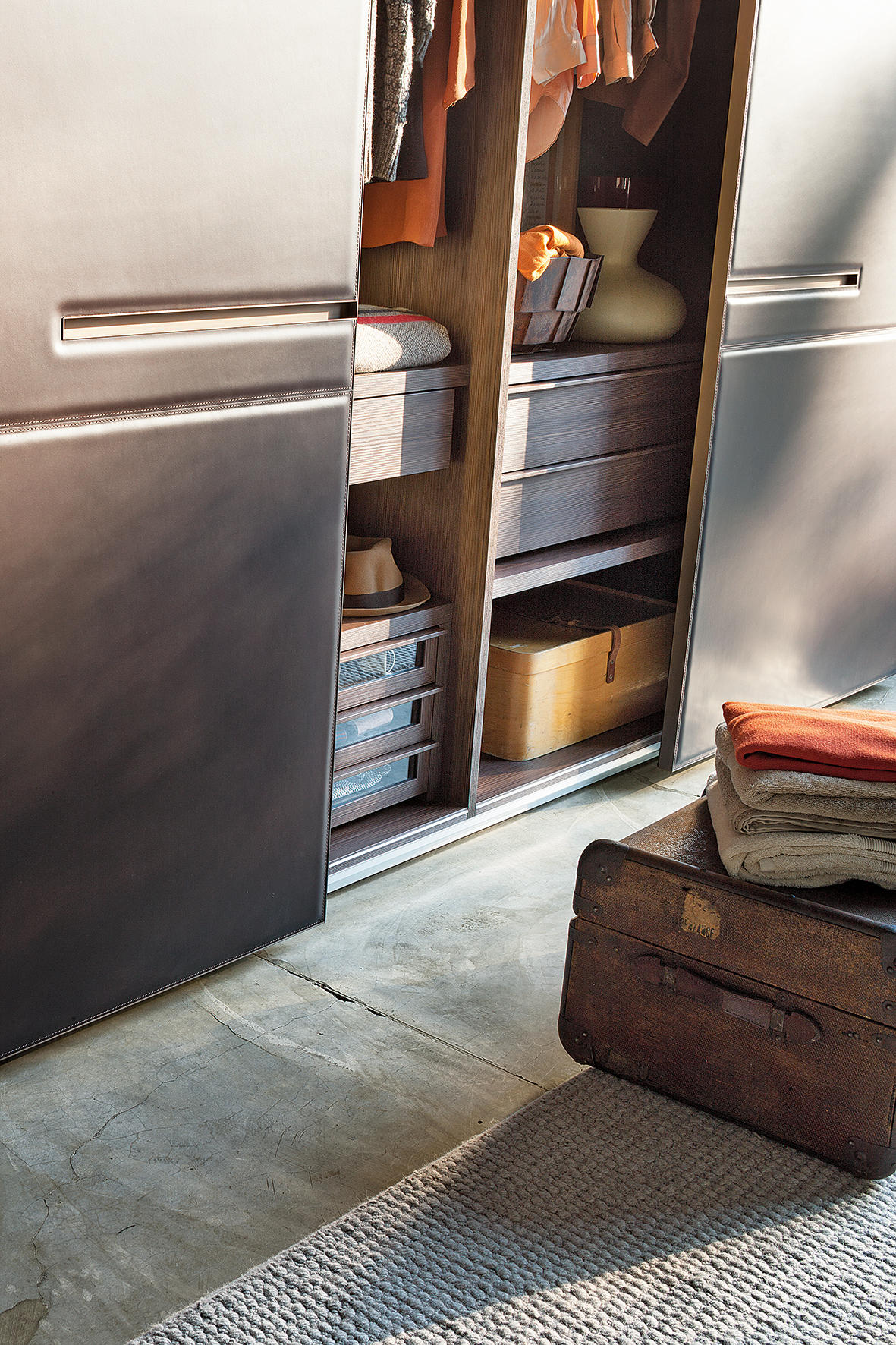 Armadio Warm Sliding Door Cabinets From Lema Architonic