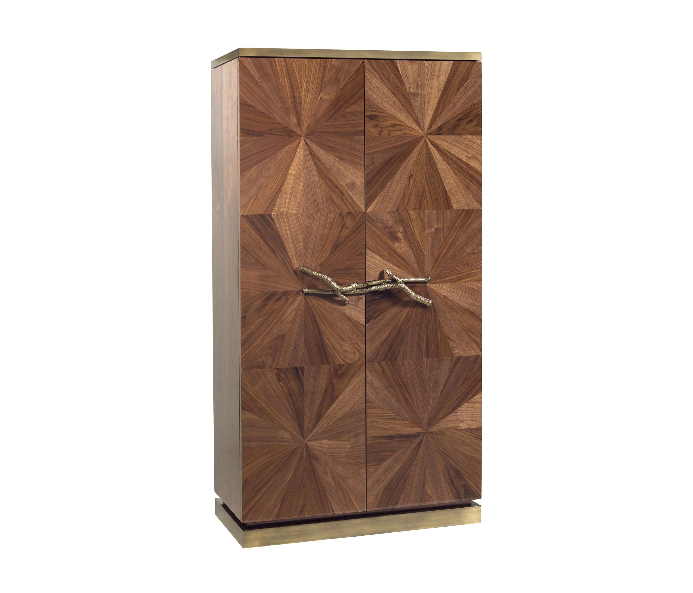 Walnut | Bar Cabinet By GINGERu0026JAGGER | Cabinets ...