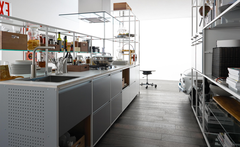 MECCANICA | METAL - Cucine a parete Valcucine | Architonic