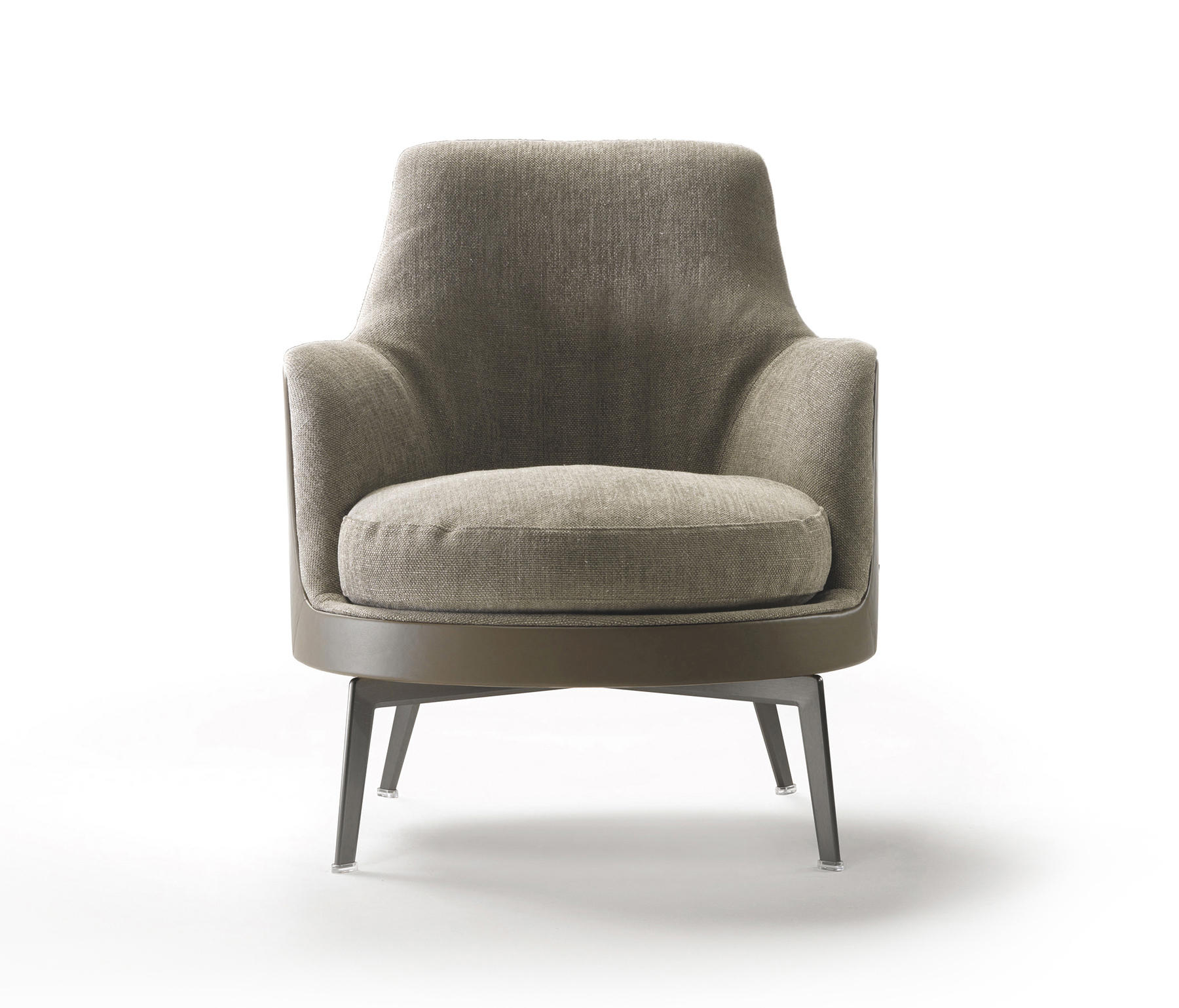 Guscio soft armchair lounge chairs from flexform for Armchair furniture