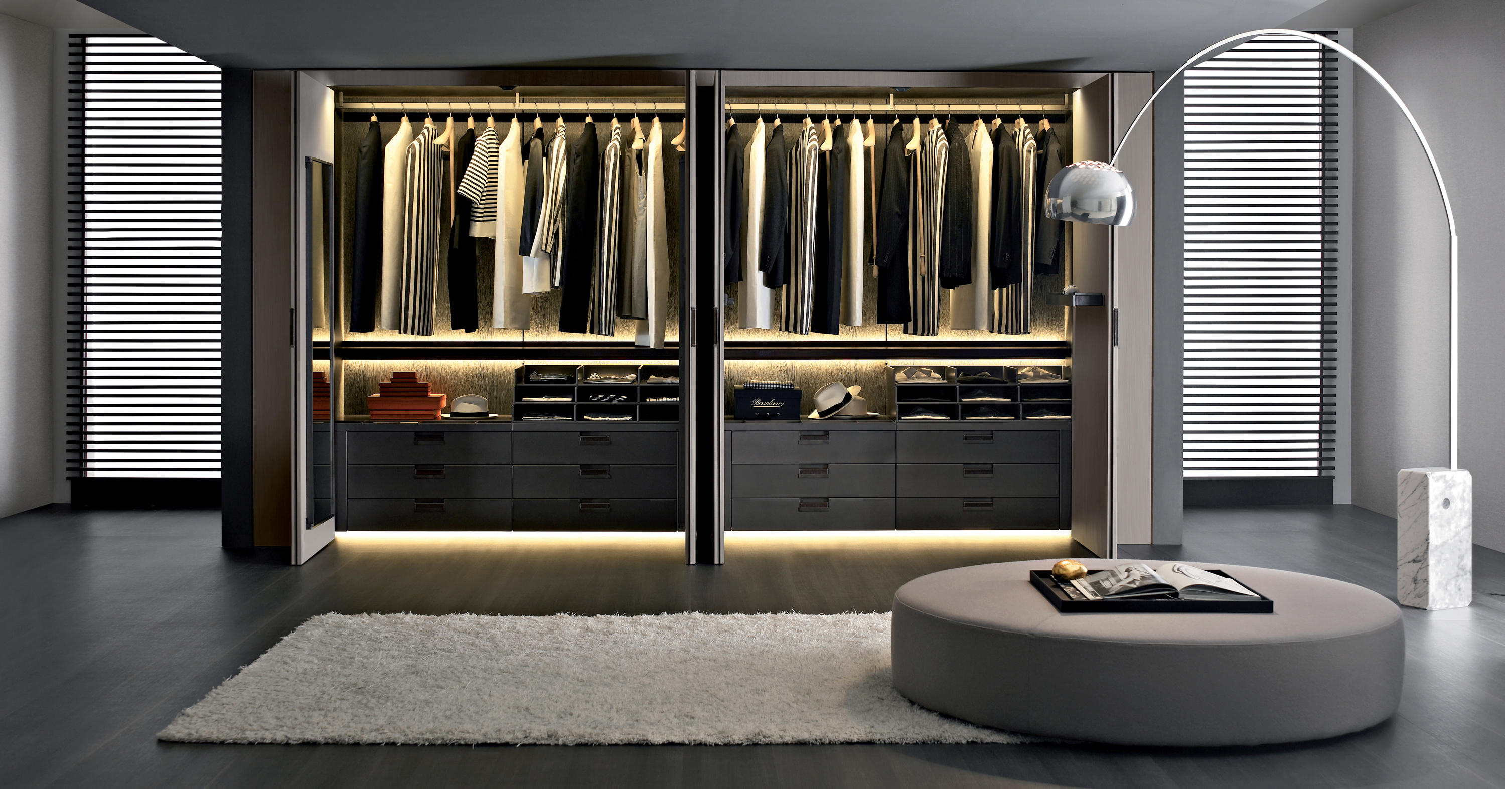 Backstage cabinets from b b italia architonic for Boiserie dwg
