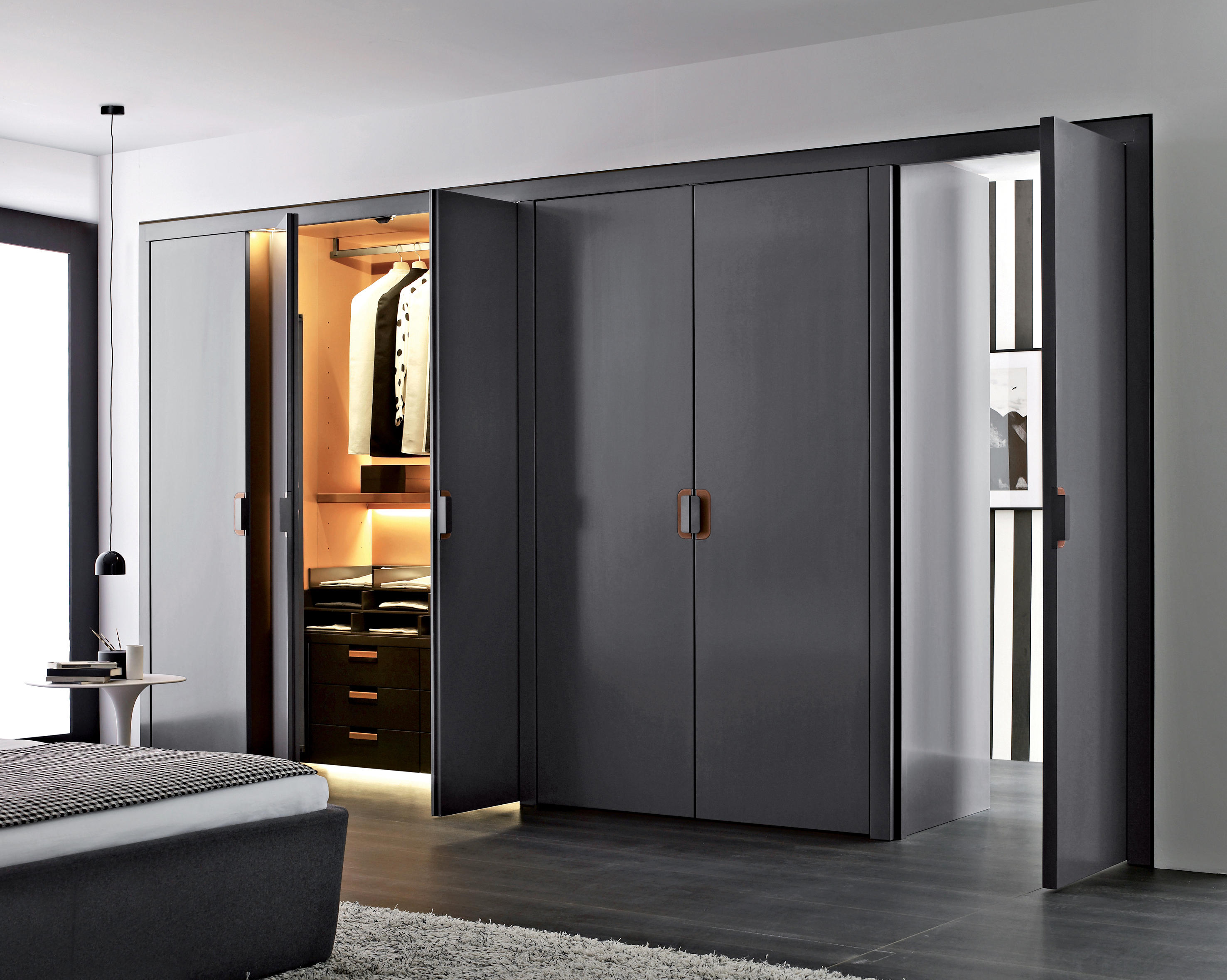 Backstage built in cupboards from b b italia architonic for Armarios modernos