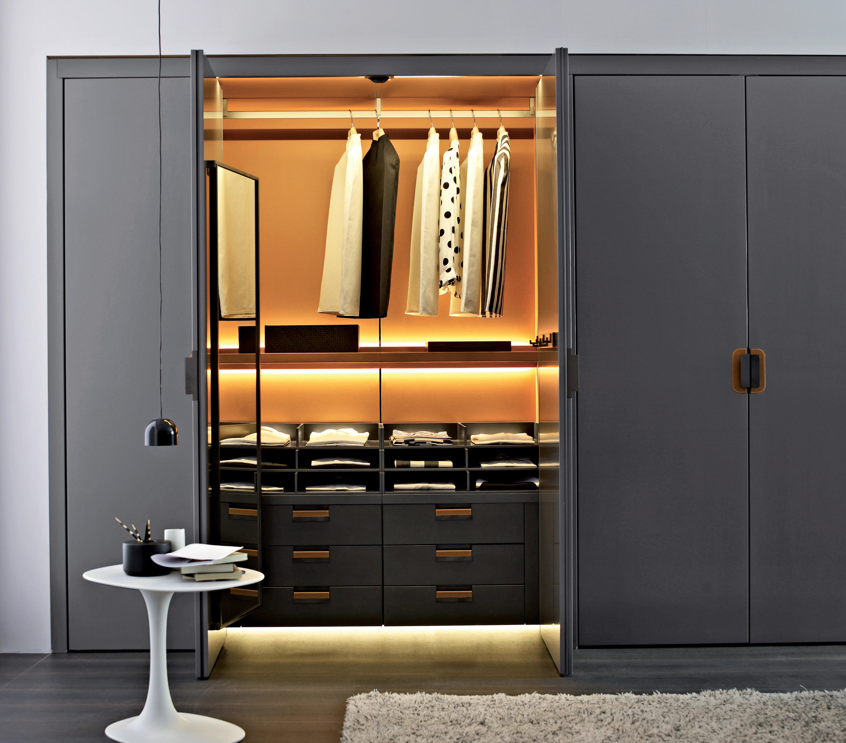 Backstage Built In Cupboards From B Amp B Italia Architonic