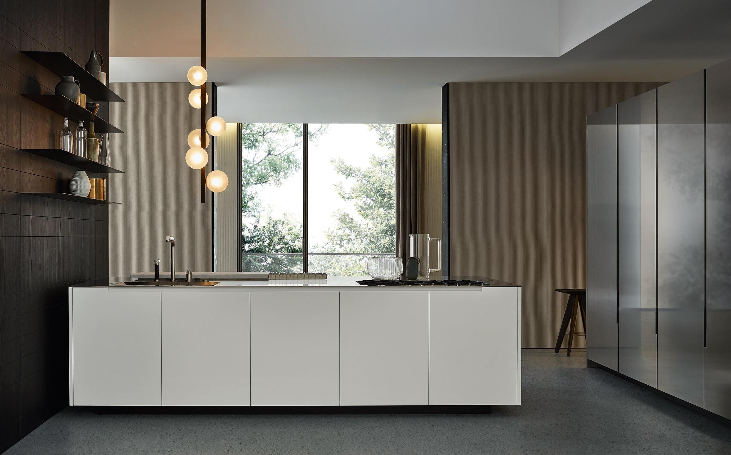 Phoenix island kitchens from varenna poliform architonic - Cucina a elle ...