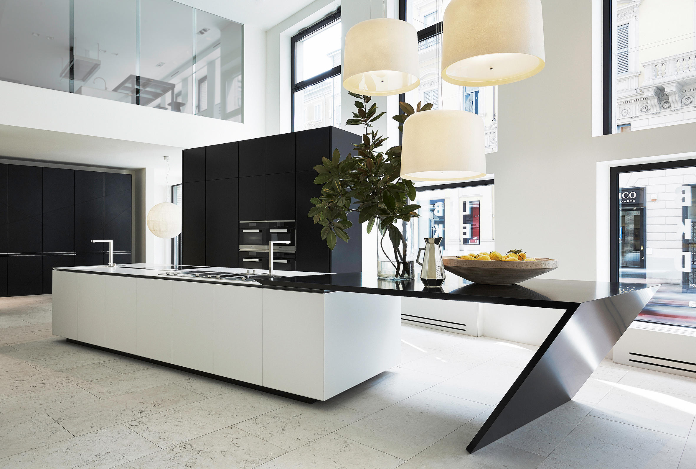 Sharp Island Kitchens From Varenna Poliform Architonic