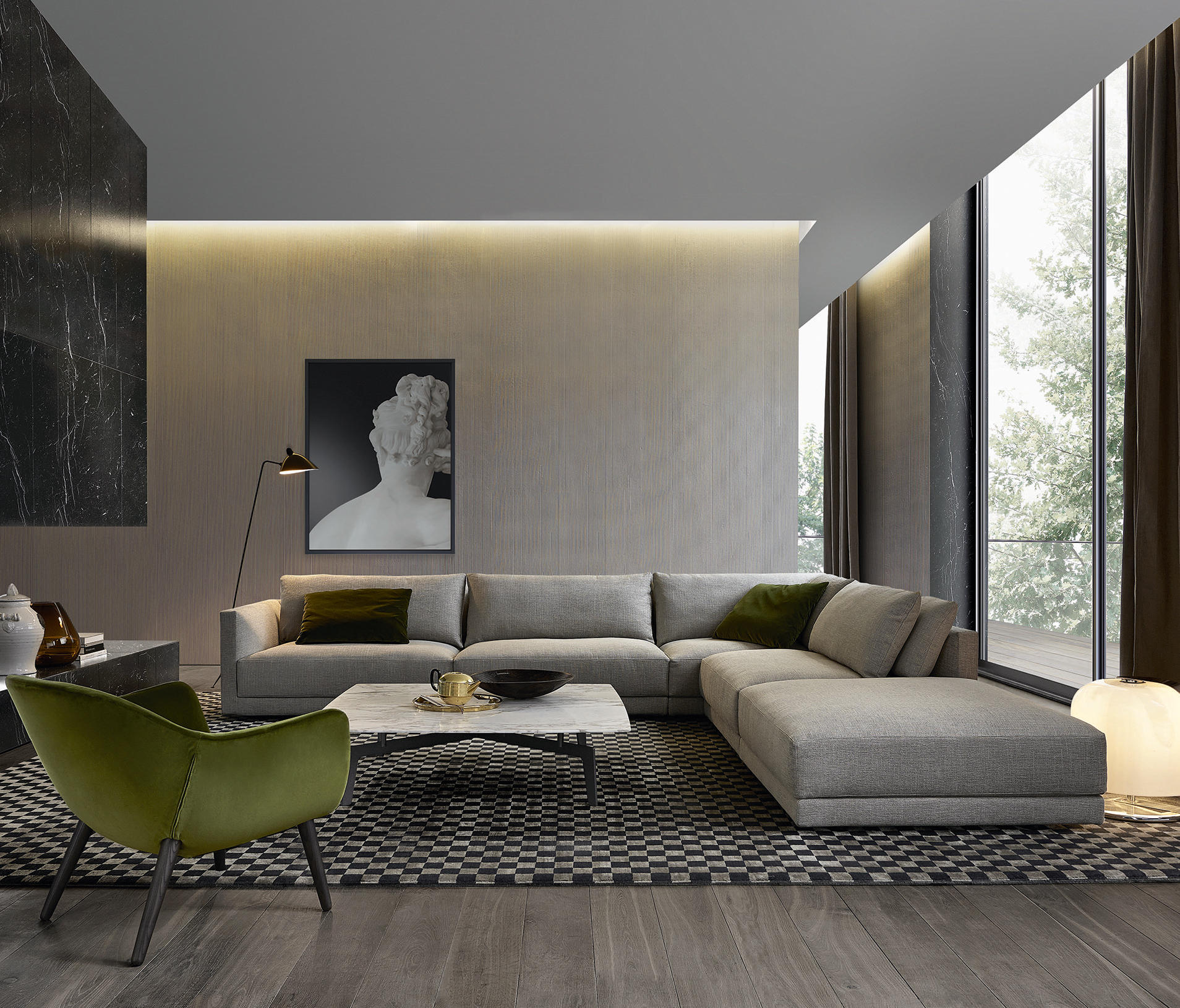 BRISTOL SOFA - Sofas from Poliform | Architonic