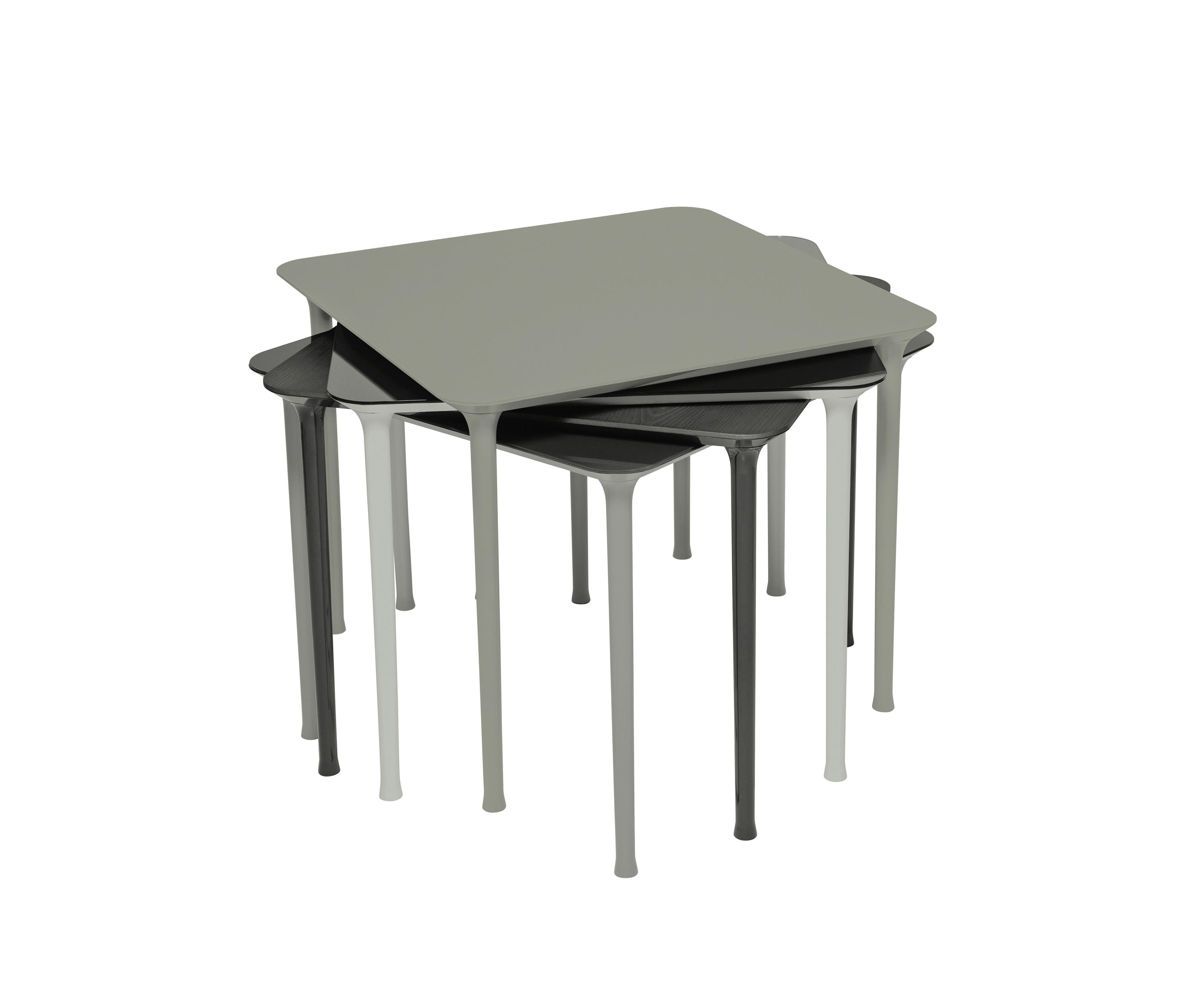 dining tables stackable  high quality designer dining tables  - spindle  multipurpose tables  tacchini italia