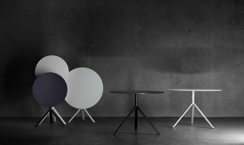 Miura Tisch Rund Esstische Von Plank Architonic