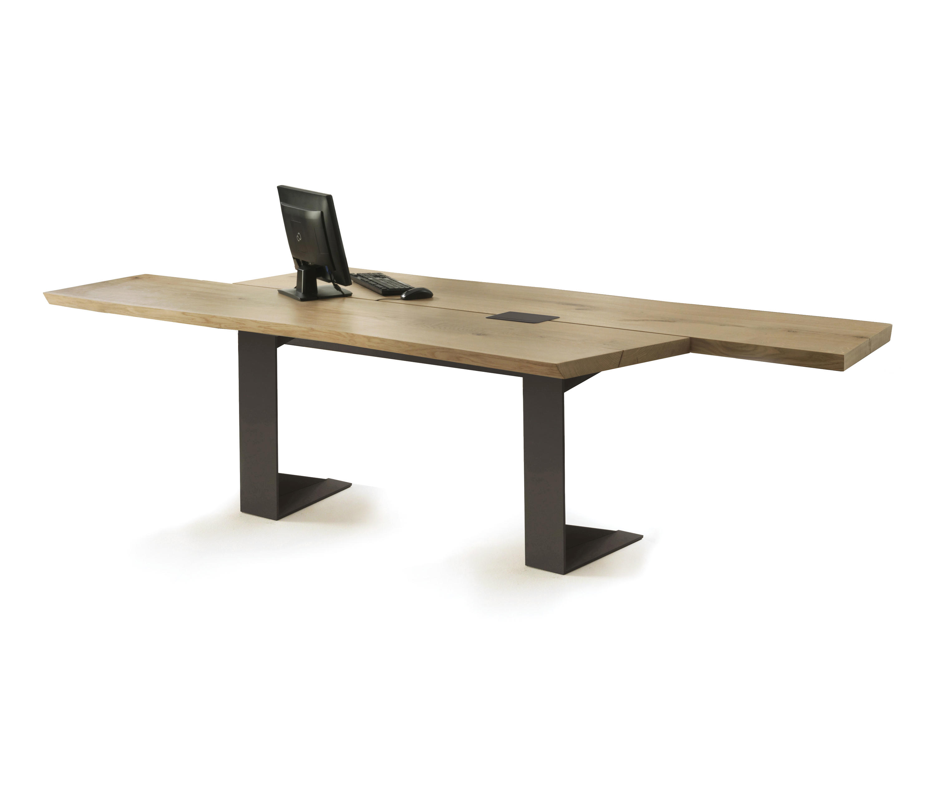 Implement table individual desks from riva 1920 architonic for Table riva but
