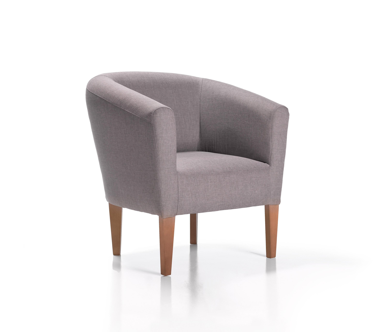Iova sillones lounge de belta frajumar architonic - Butacas de ikea ...