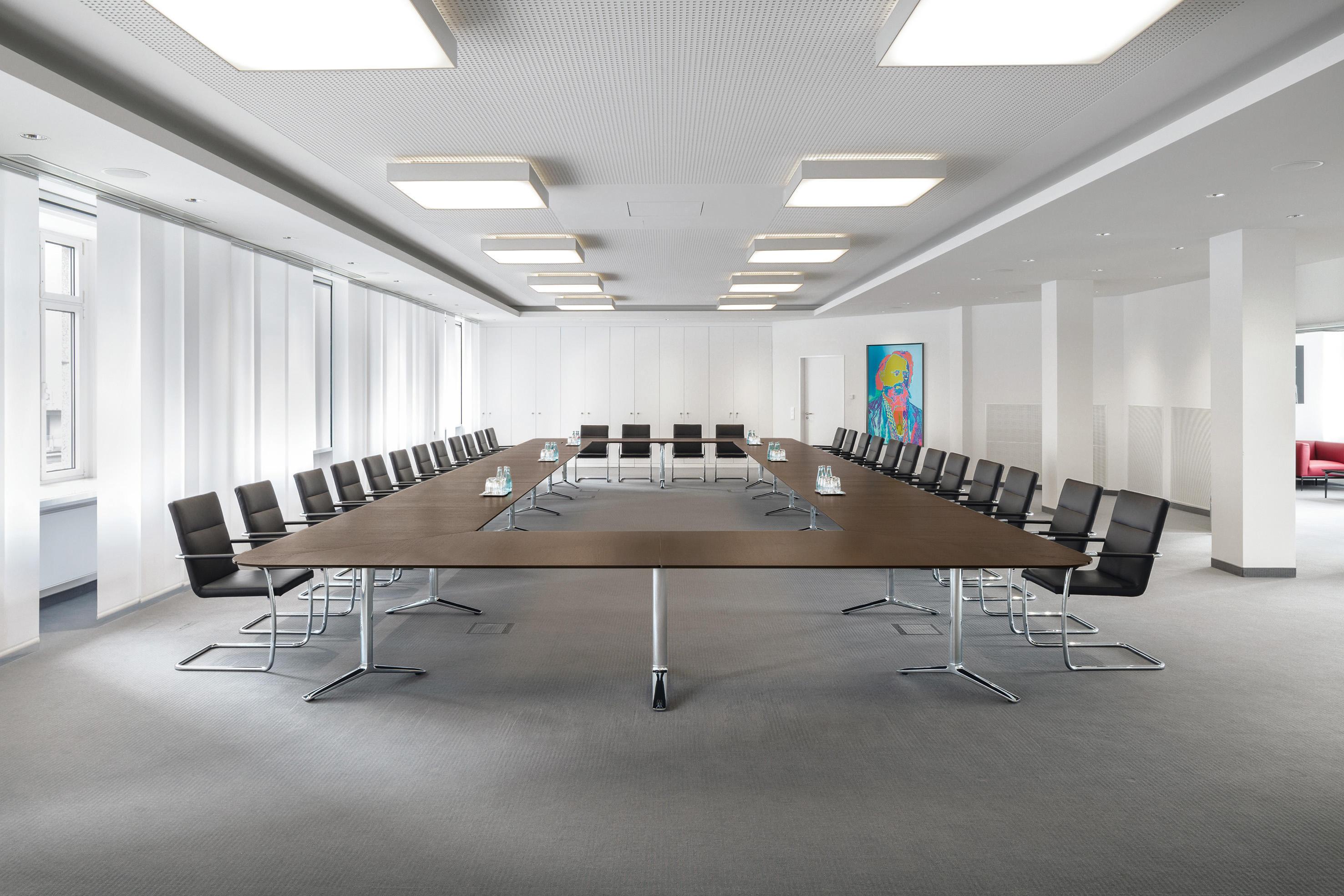 talk conference table sistemi tavolo conferenza renz architonic. Black Bedroom Furniture Sets. Home Design Ideas