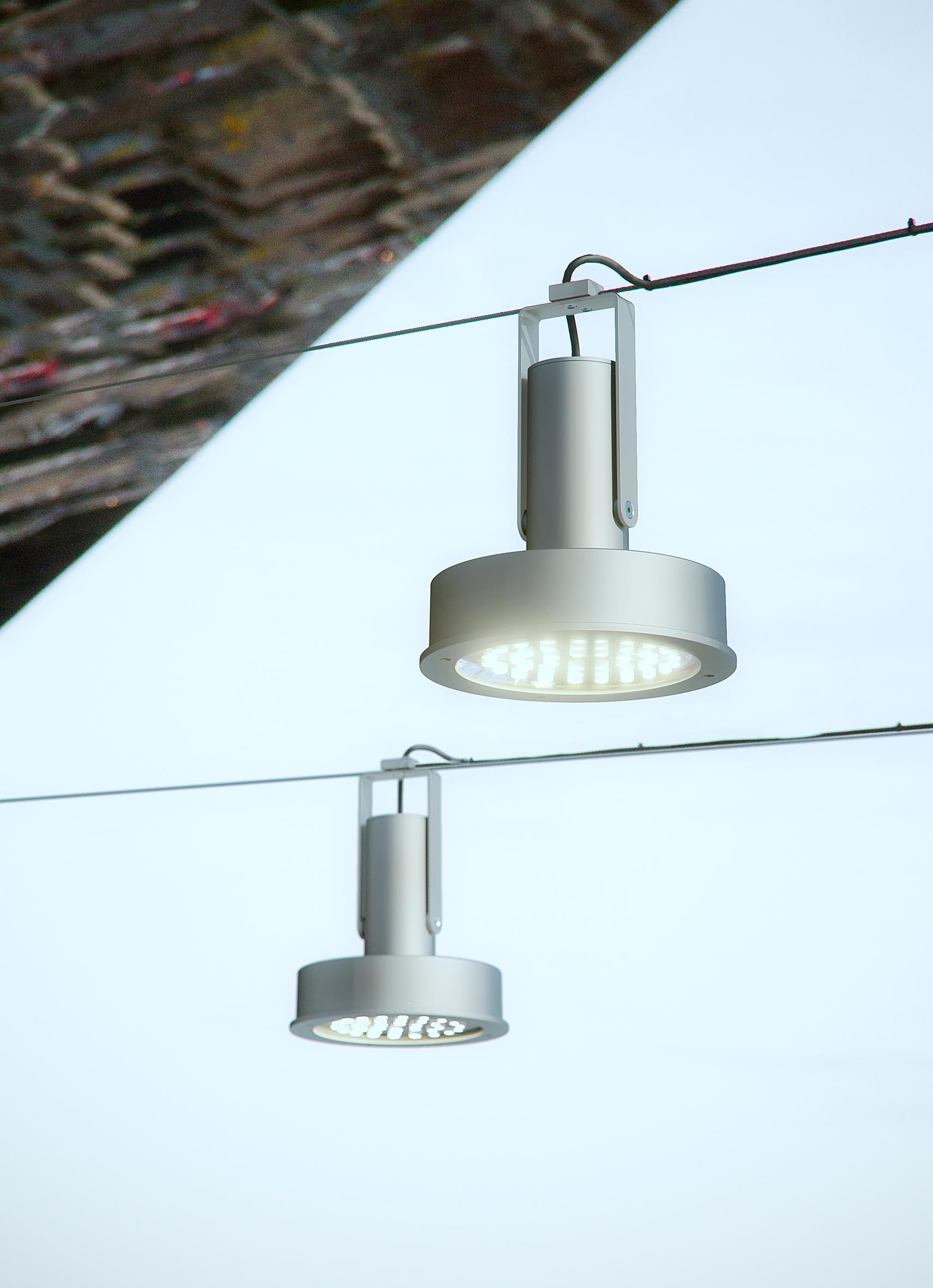 Arne catenaria iluminaci n led de santa cole for Distribuidor roca barcelona