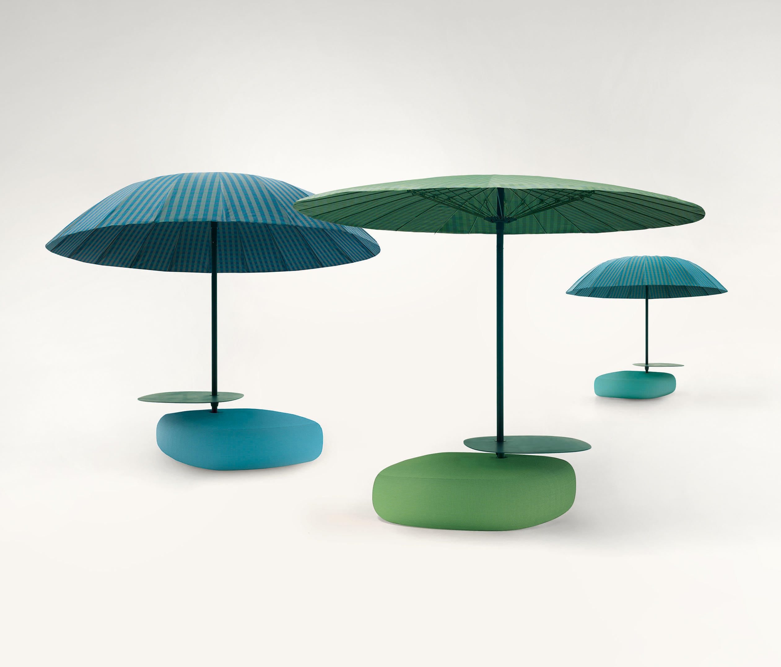 bistr parasols from paola lenti architonic. Black Bedroom Furniture Sets. Home Design Ideas