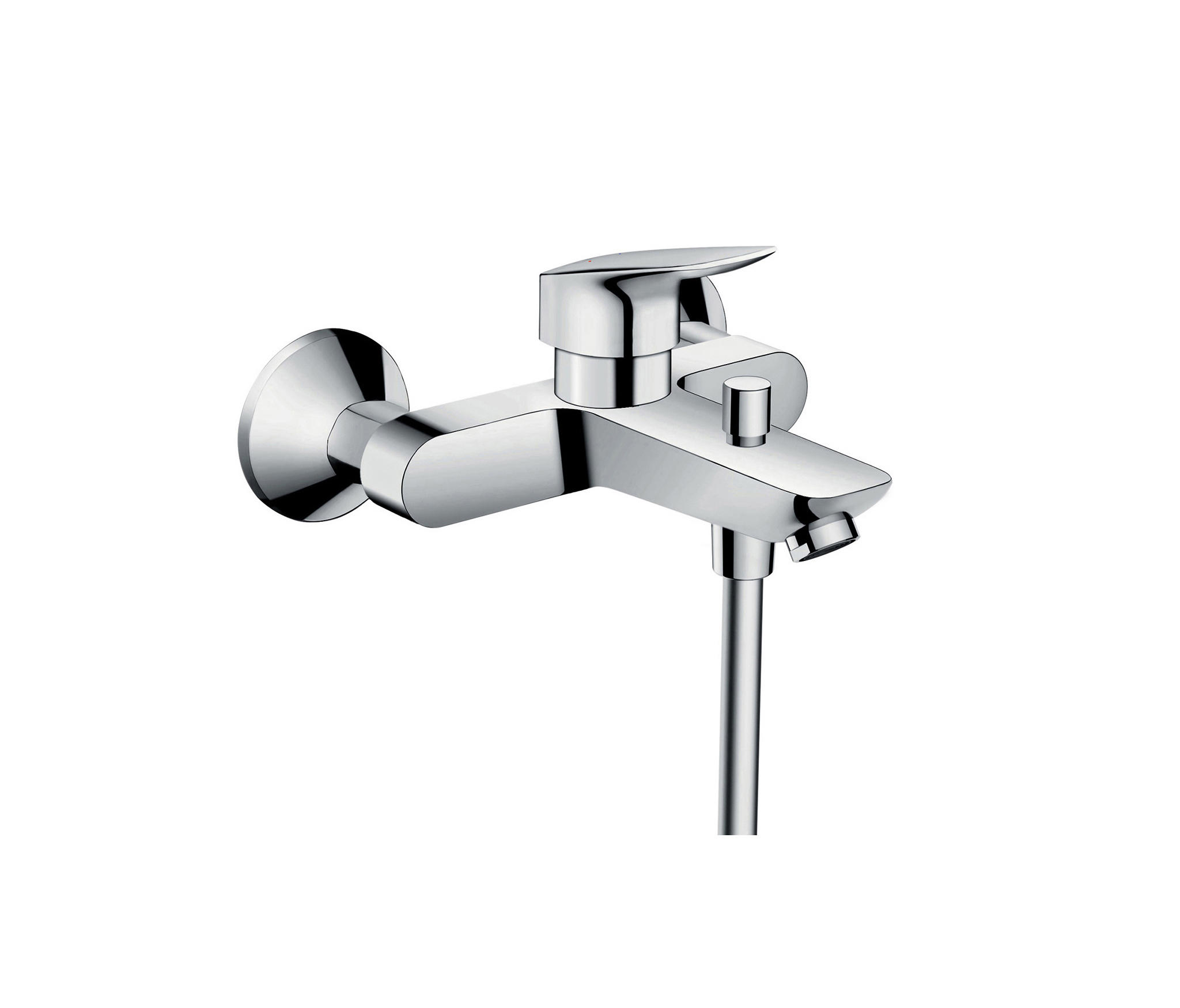 hansgrohe logis single lever bath mixer for exposed. Black Bedroom Furniture Sets. Home Design Ideas