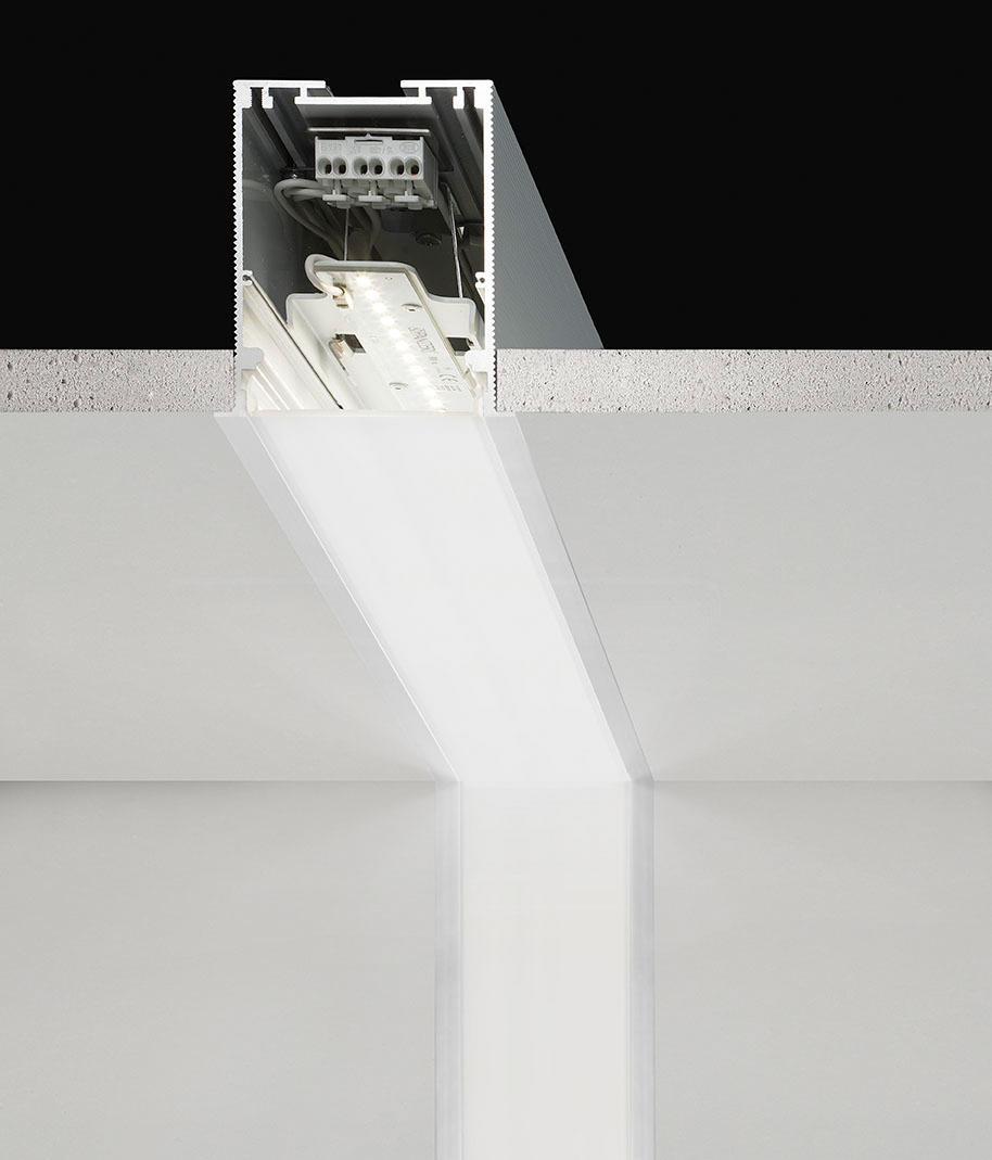 lichtleiste in decke led systeme inspiration design raum und m bel f r ihre. Black Bedroom Furniture Sets. Home Design Ideas