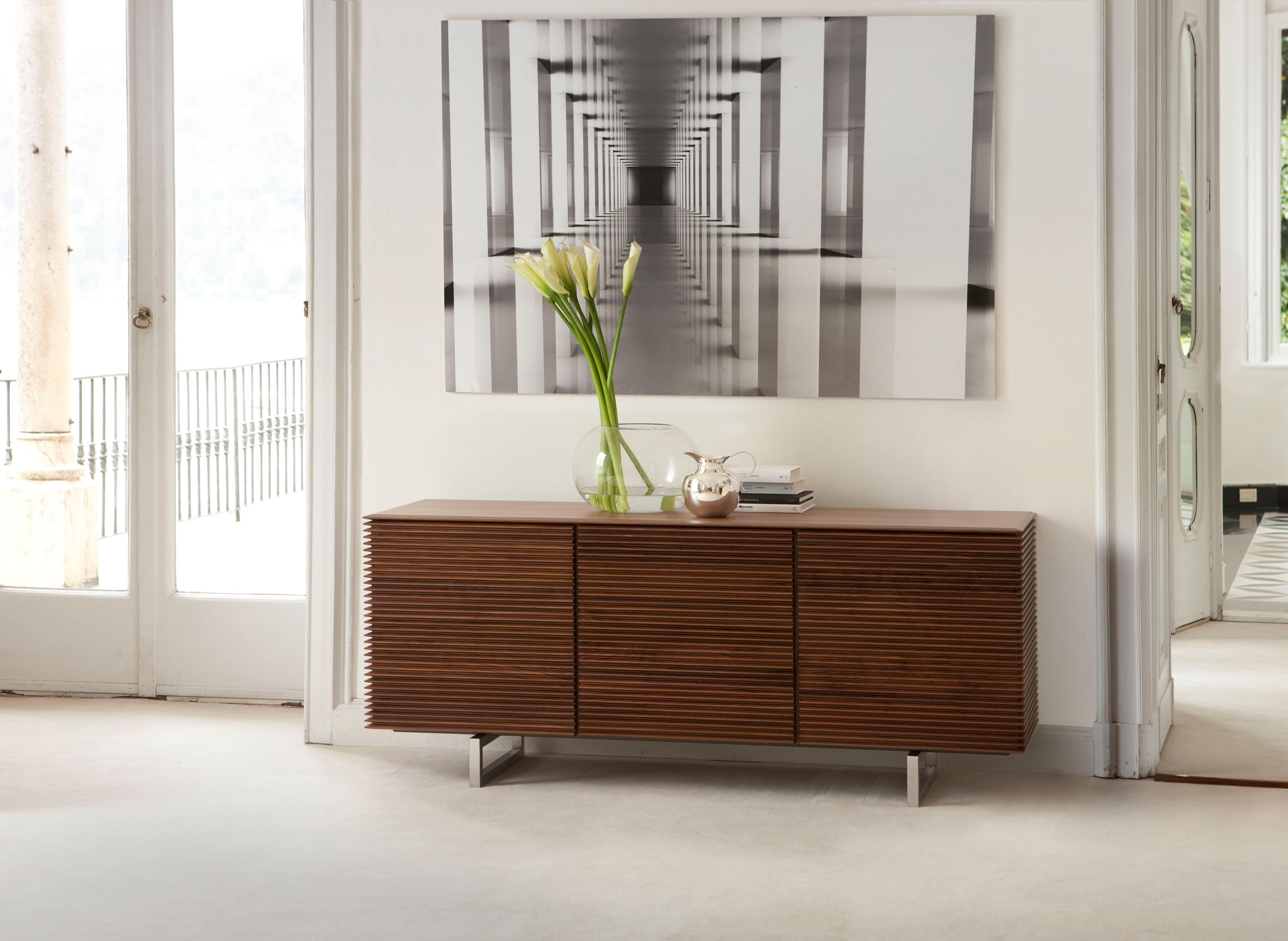 riga credenza sideboards from porada architonic. Black Bedroom Furniture Sets. Home Design Ideas