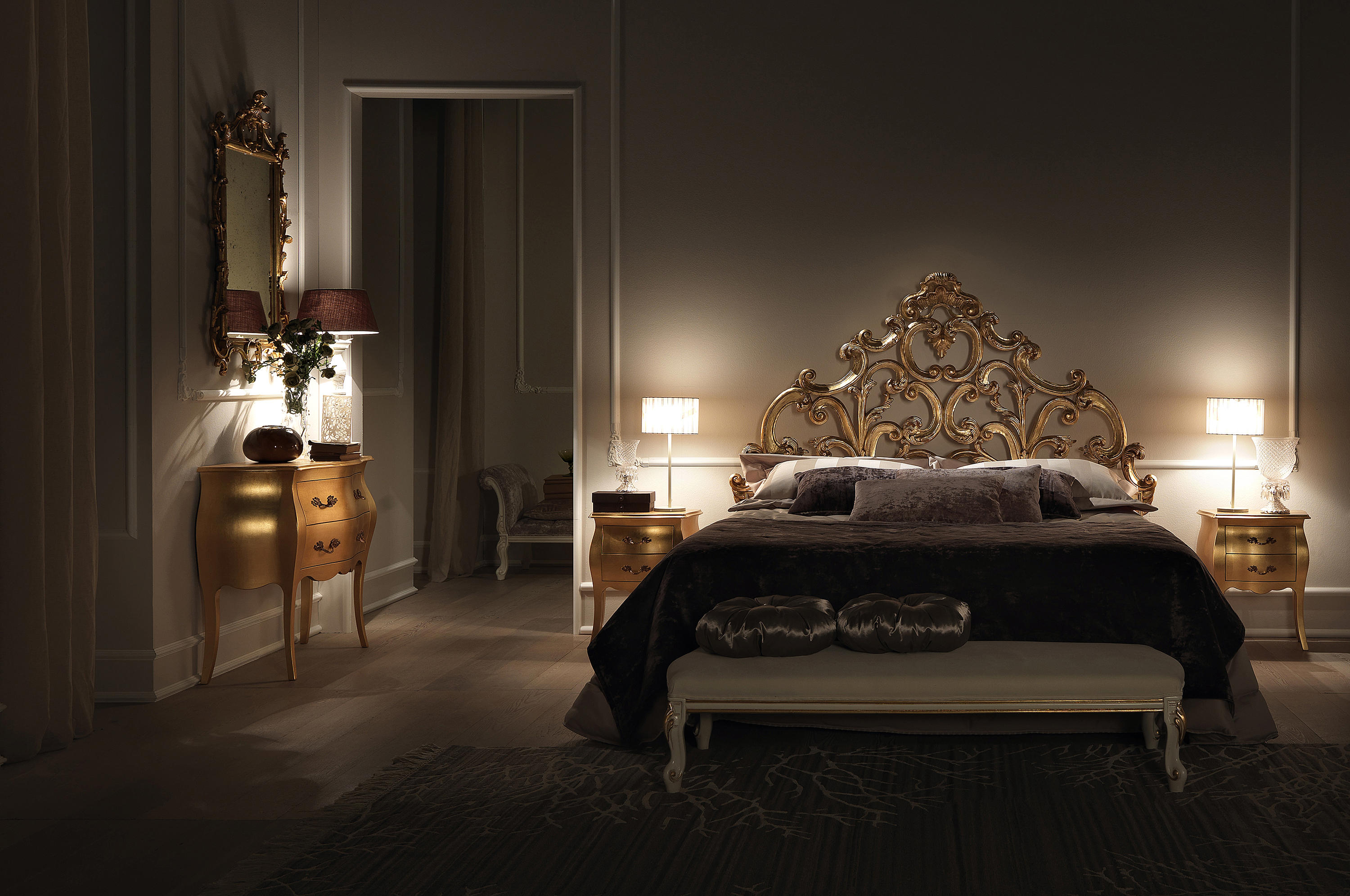 CA D\'ORO - Double beds from Bolzan Letti | Architonic