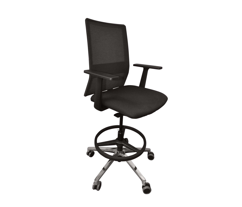 Sentis sillas de trabajo altas de forma 5 architonic for Silla sentis forma 5