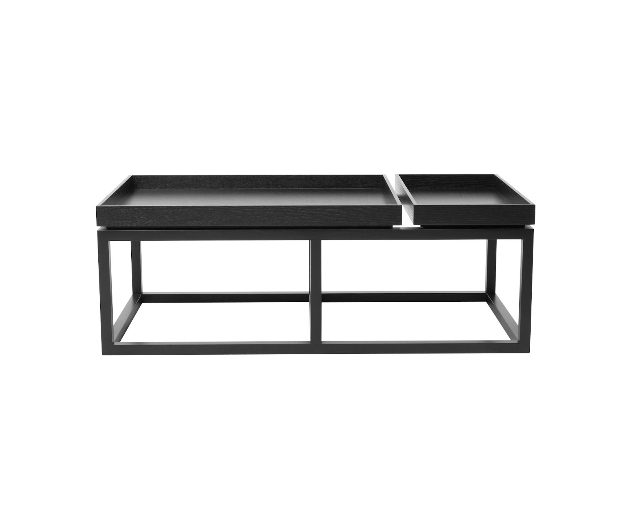 COFFEE TABLE TRAY BLACK WOOD WALNUT Lounge tables from NORR11