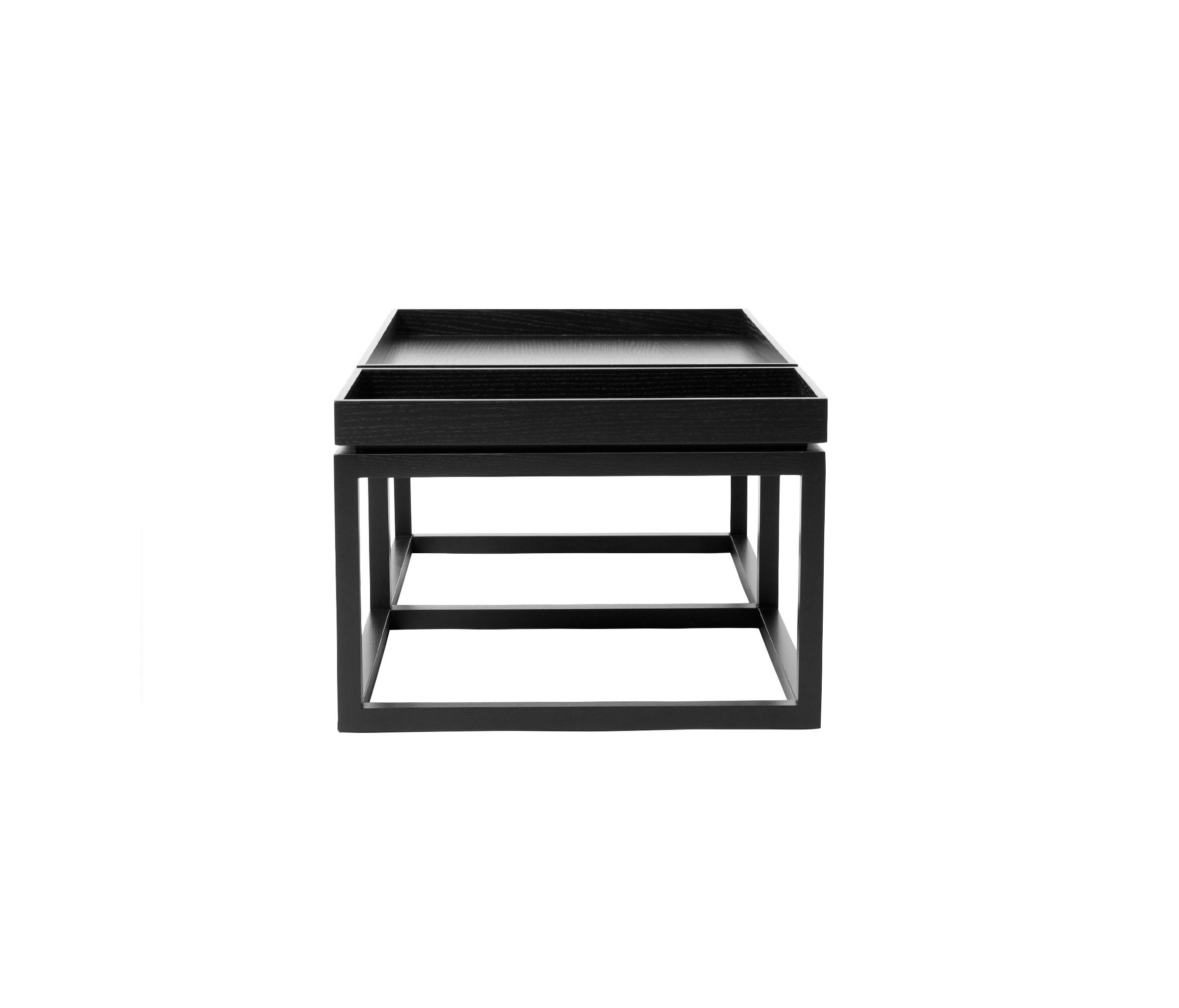 Coffee Table Tray Black Wood Walnut Lounge Tables From Norr11 Architonic