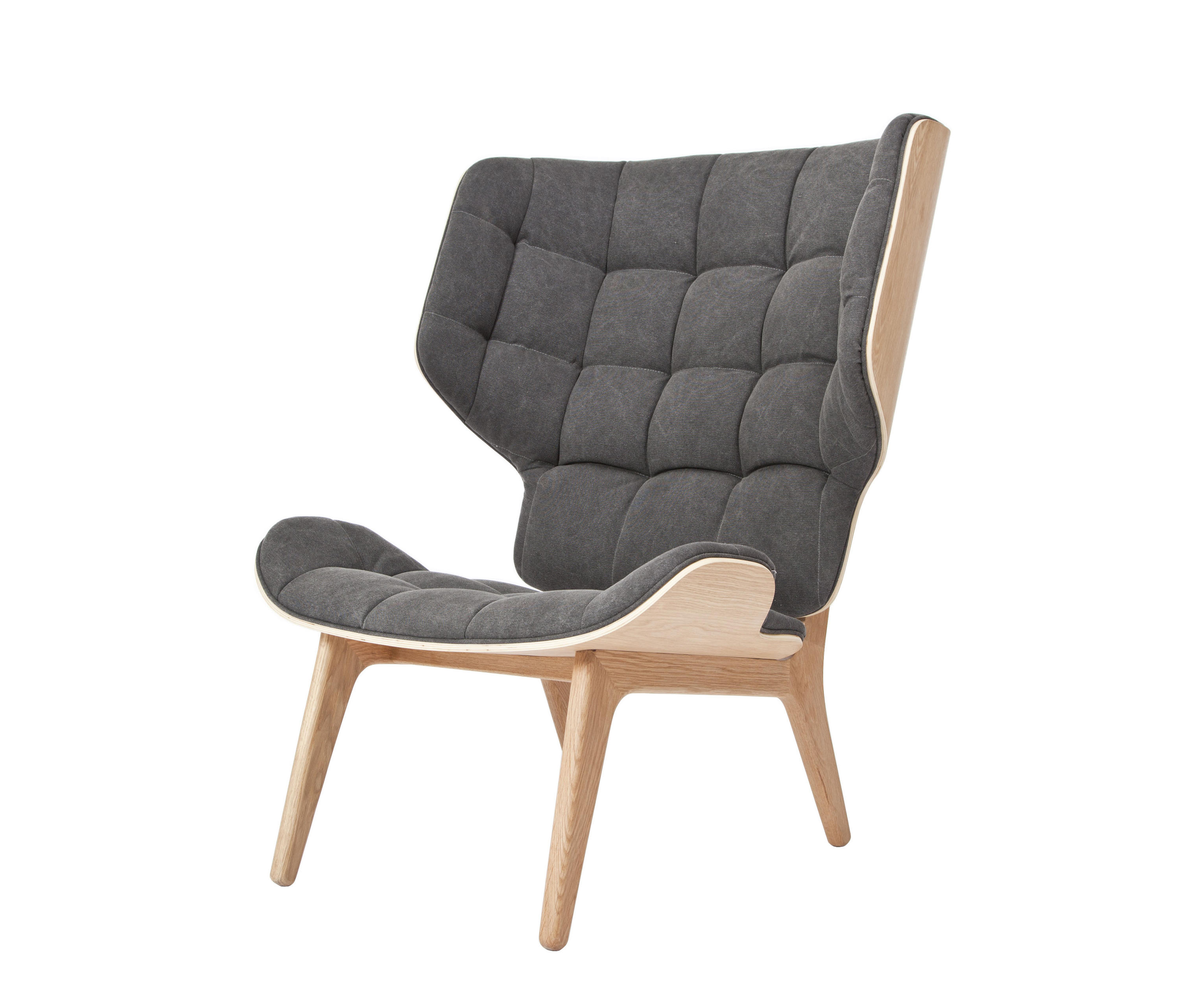 Mammoth chair lounge chairs from norr11 architonic for Sessel 80 breit