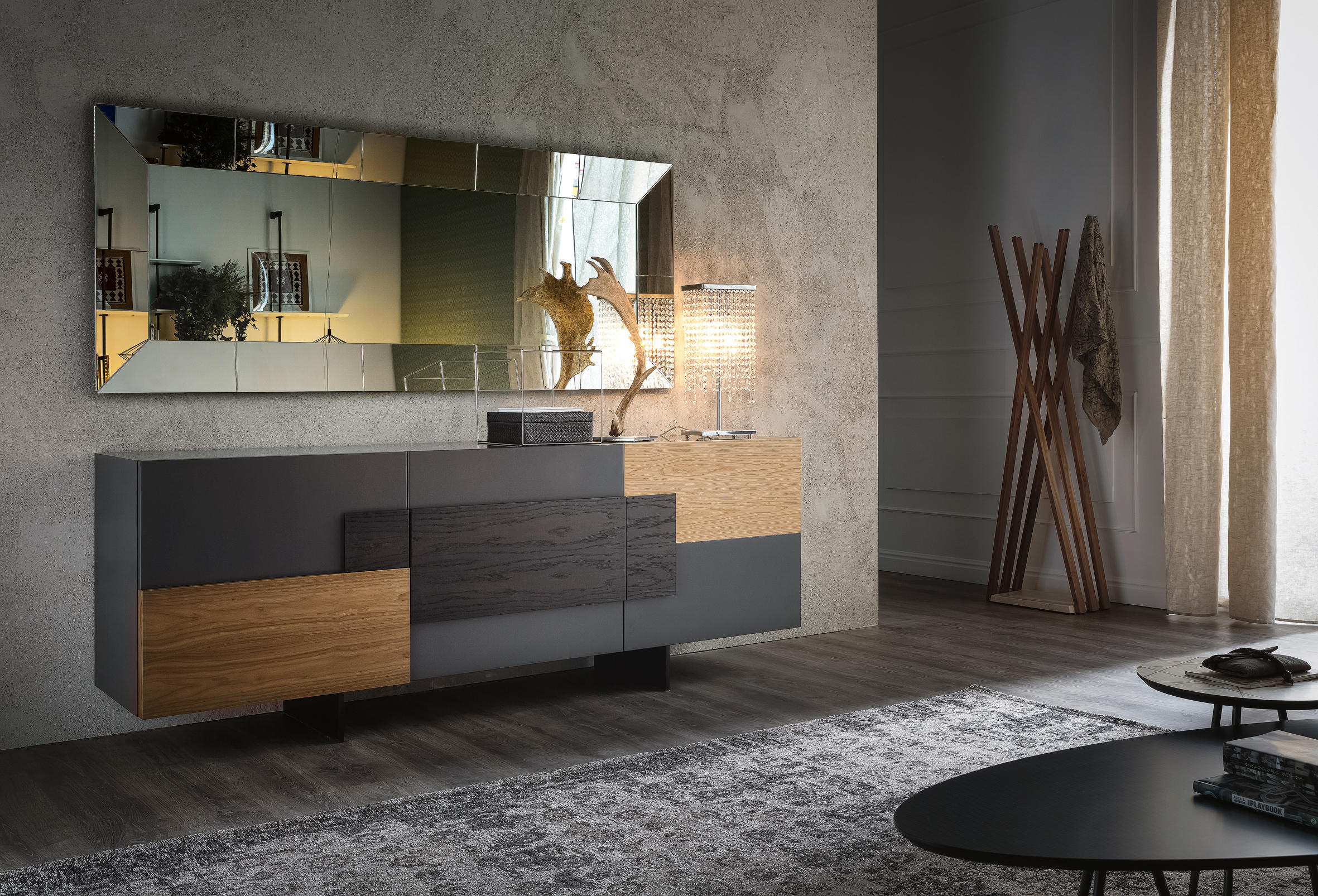 torino sideboards from cattelan italia architonic. Black Bedroom Furniture Sets. Home Design Ideas